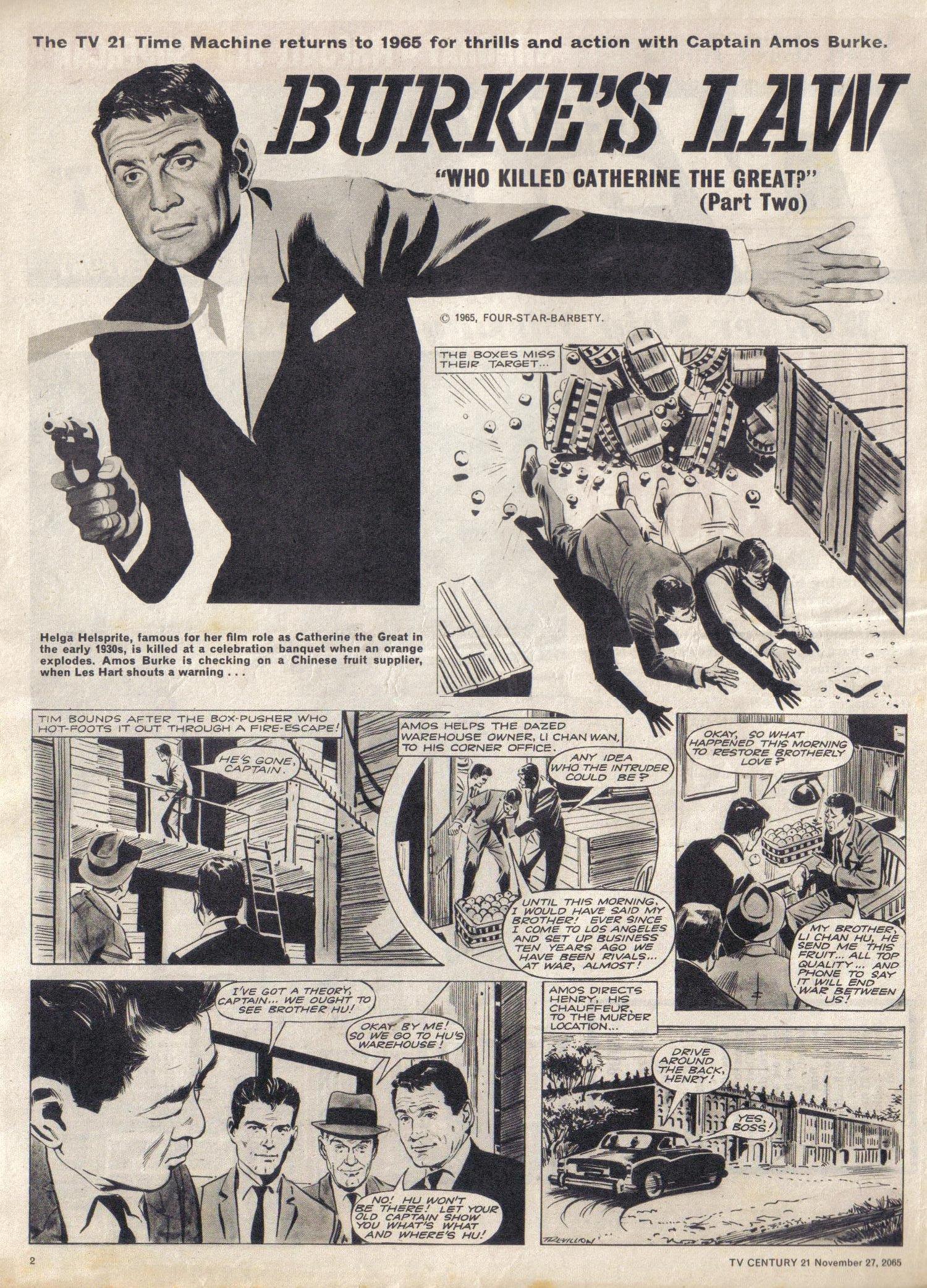 Read online TV Century 21 (TV 21) comic -  Issue #45 - 2