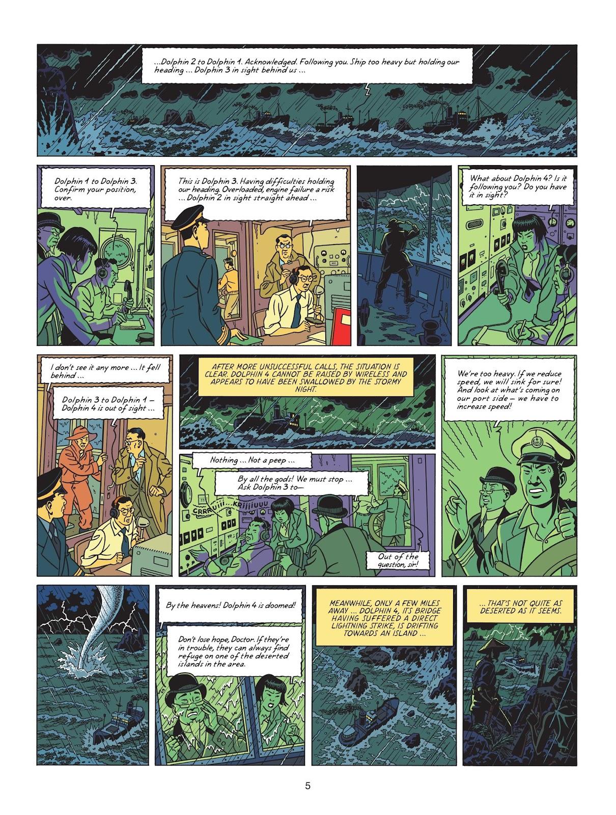 Read online Blake & Mortimer comic -  Issue #25 - 7