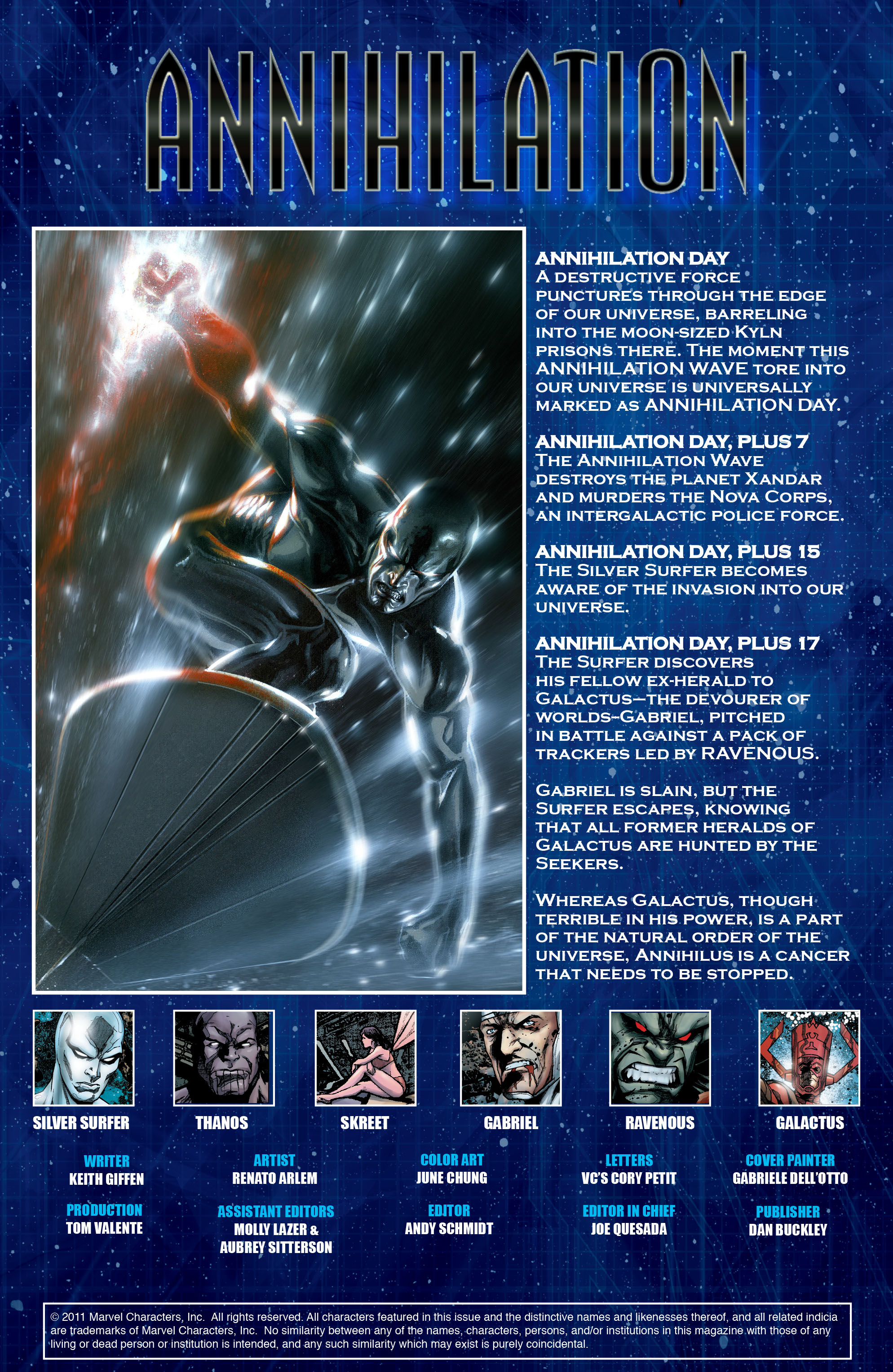 Read online Annihilation: Silver Surfer comic -  Issue #2 - 4