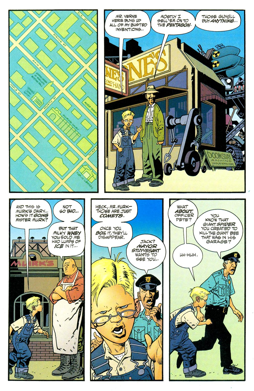 Read online ABC: A-Z, Tom Strong and Jack B. Quick comic -  Issue #ABC: A-Z, Tom Strong and Jack B. Quick Full - 14