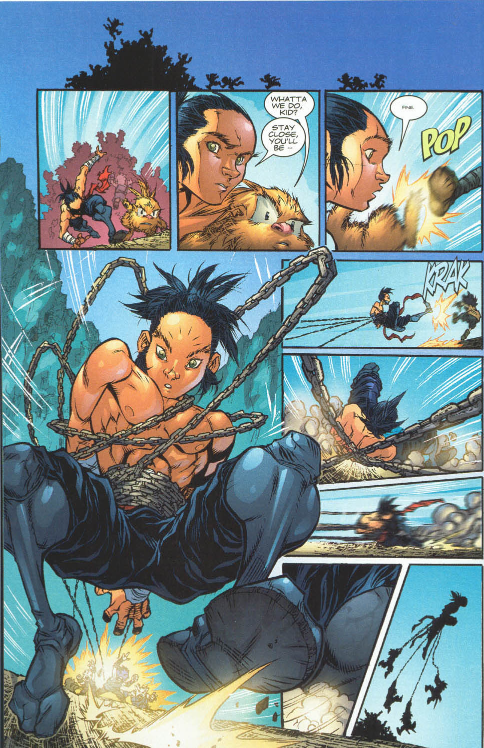 Read online Ninja Boy comic -  Issue #4 - 7