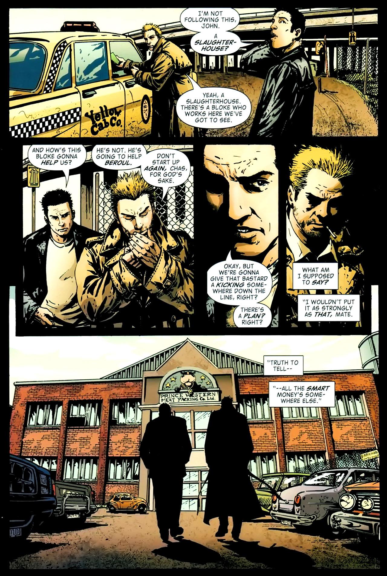 Read online John Constantine Hellblazer: All His Engines comic -  Issue # Full - 55
