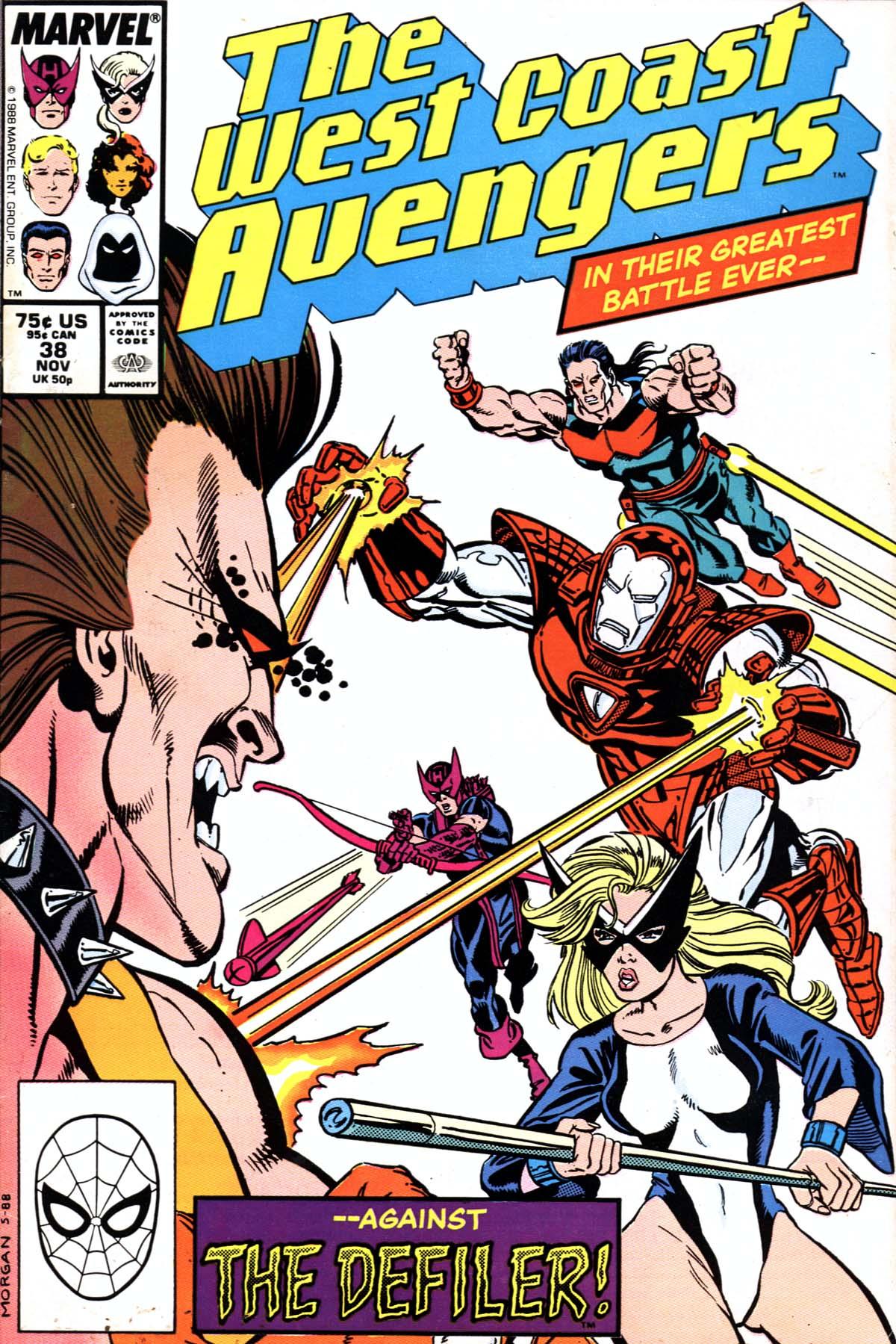 West Coast Avengers (1985) 38 Page 1