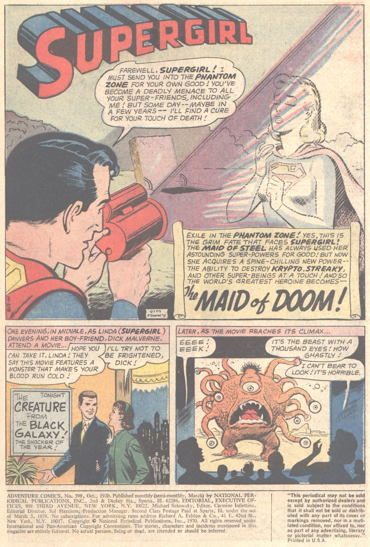 Read online Adventure Comics (1938) comic -  Issue #398 - 3