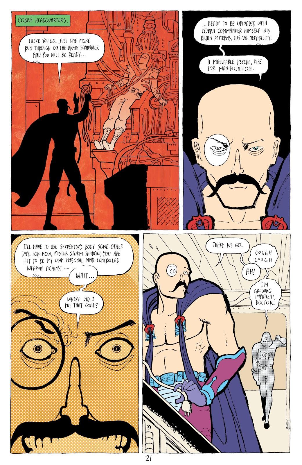 Read online G.I. Joe: Sierra Muerte comic -  Issue #2 - 23