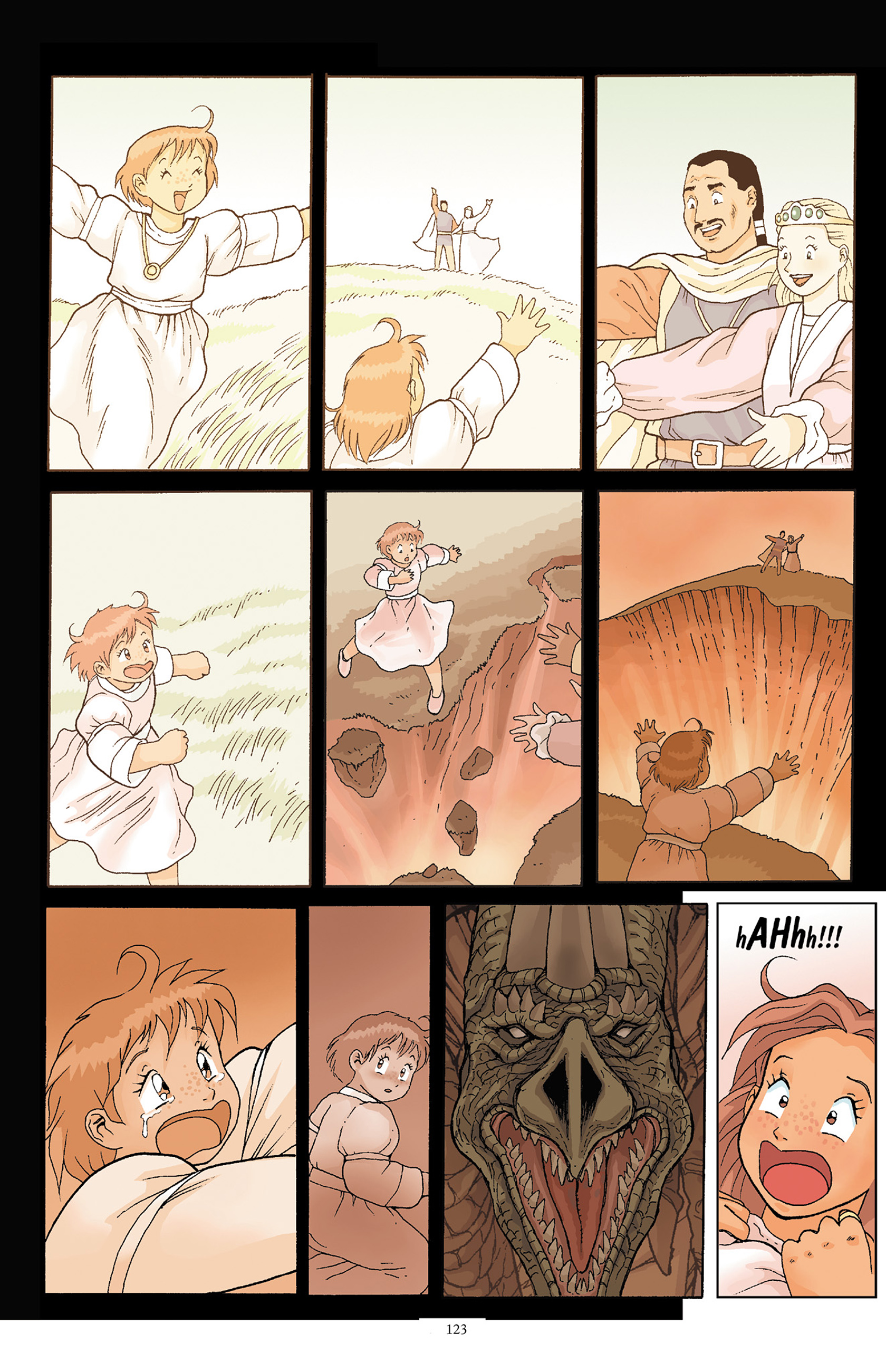 Read online Courageous Princess comic -  Issue # TPB 1 - 122