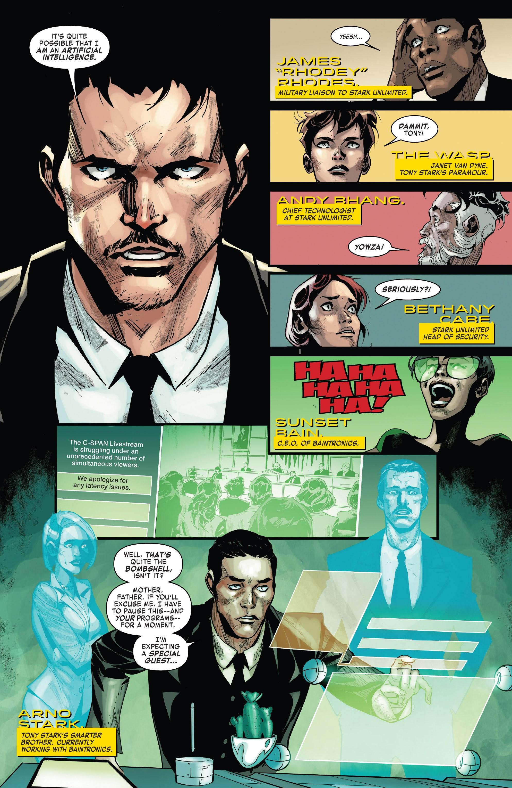 Read online Tony Stark: Iron Man comic -  Issue #15 - 5
