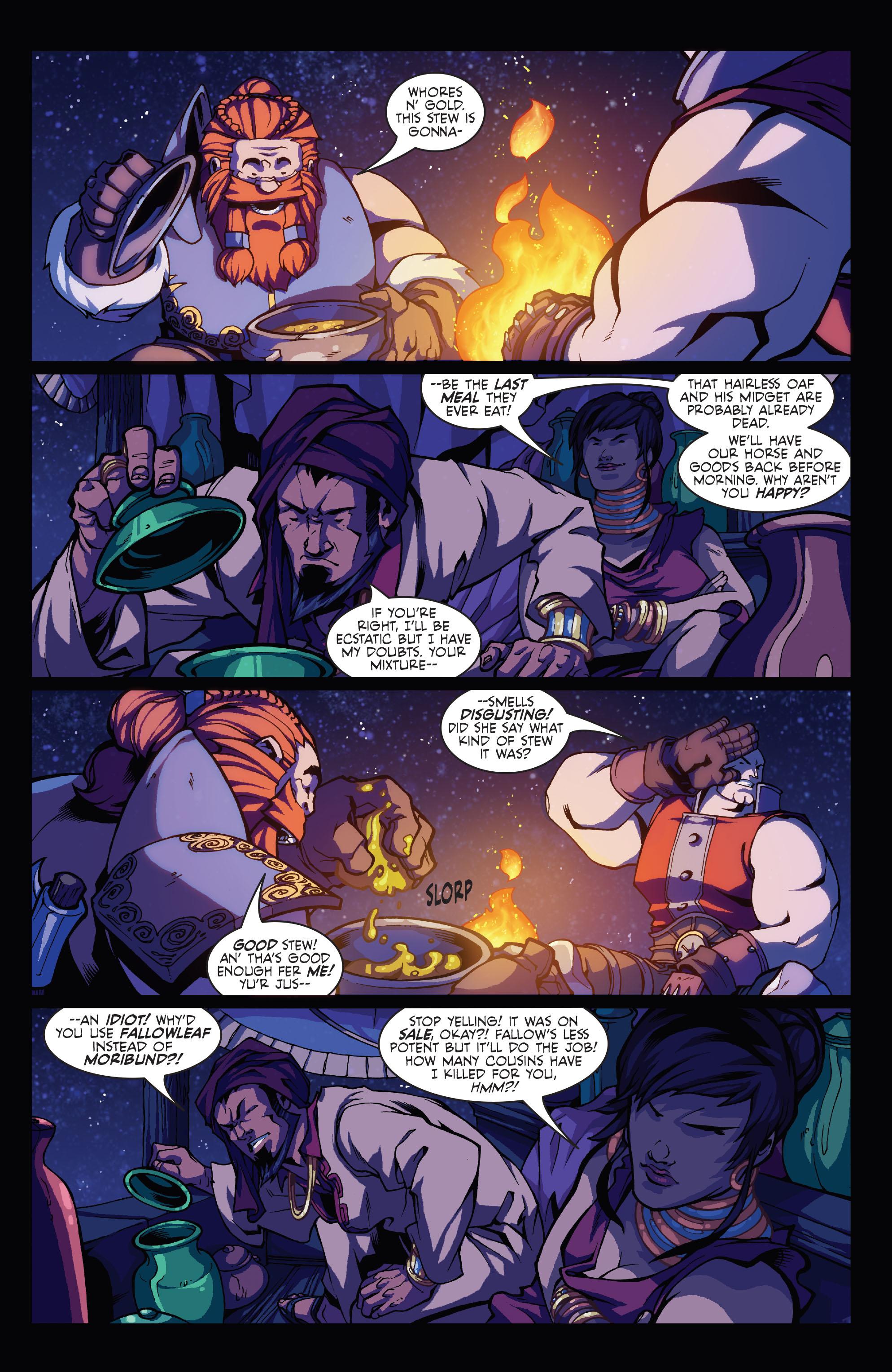 Read online Skullkickers comic -  Issue #3 - 4