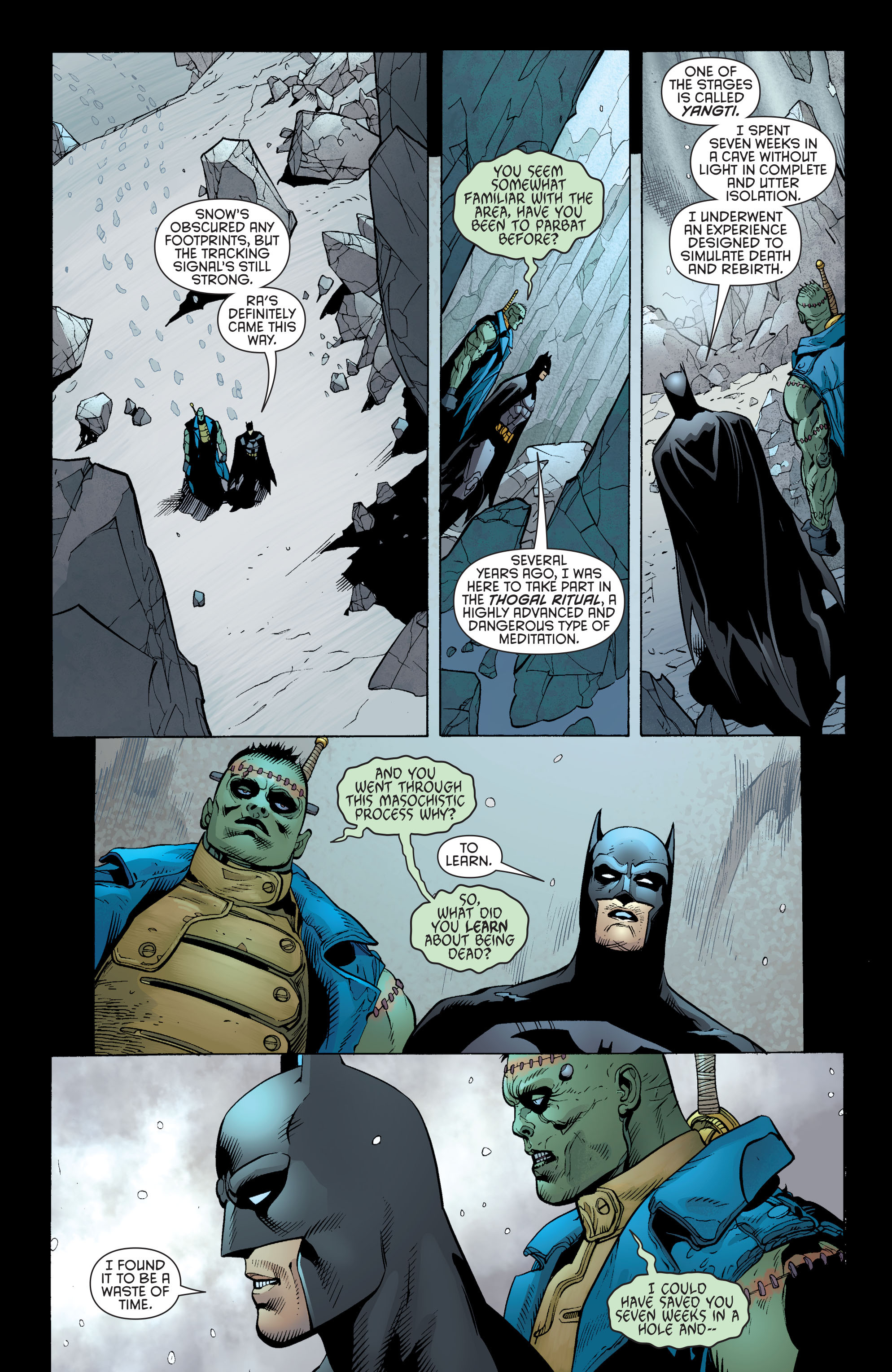 Read online Batman and Robin (2011) comic -  Issue #31 - Batman and Frankenstein - 14