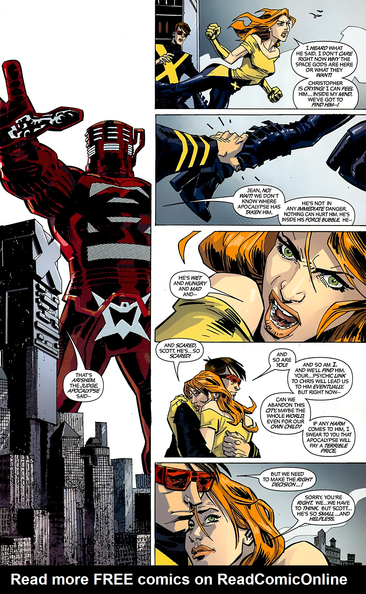 Read online X-Factor Forever comic -  Issue #4 - 4