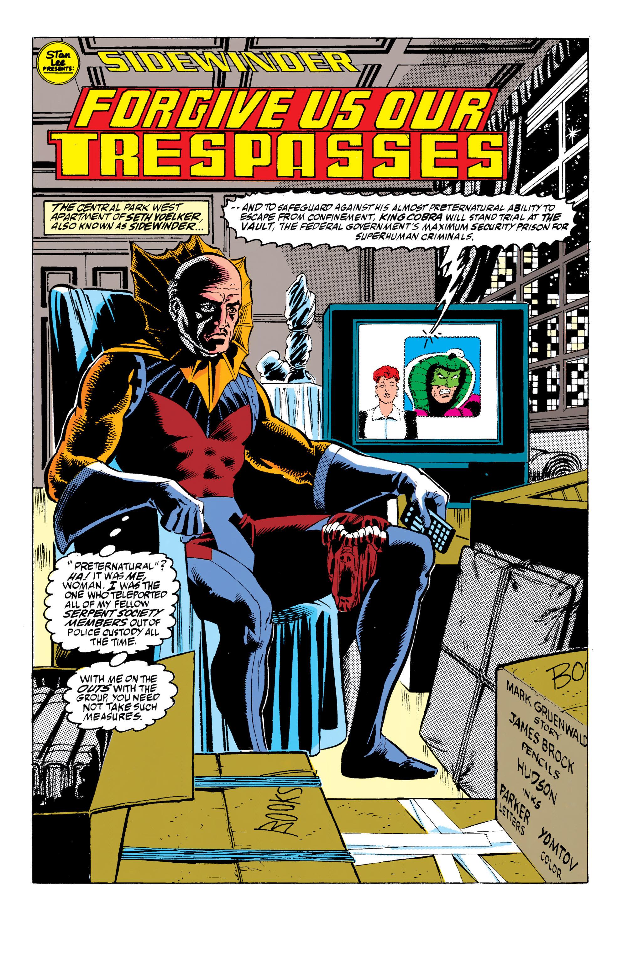 Read online Captain America (1968) comic -  Issue # _Annual 10 - 37
