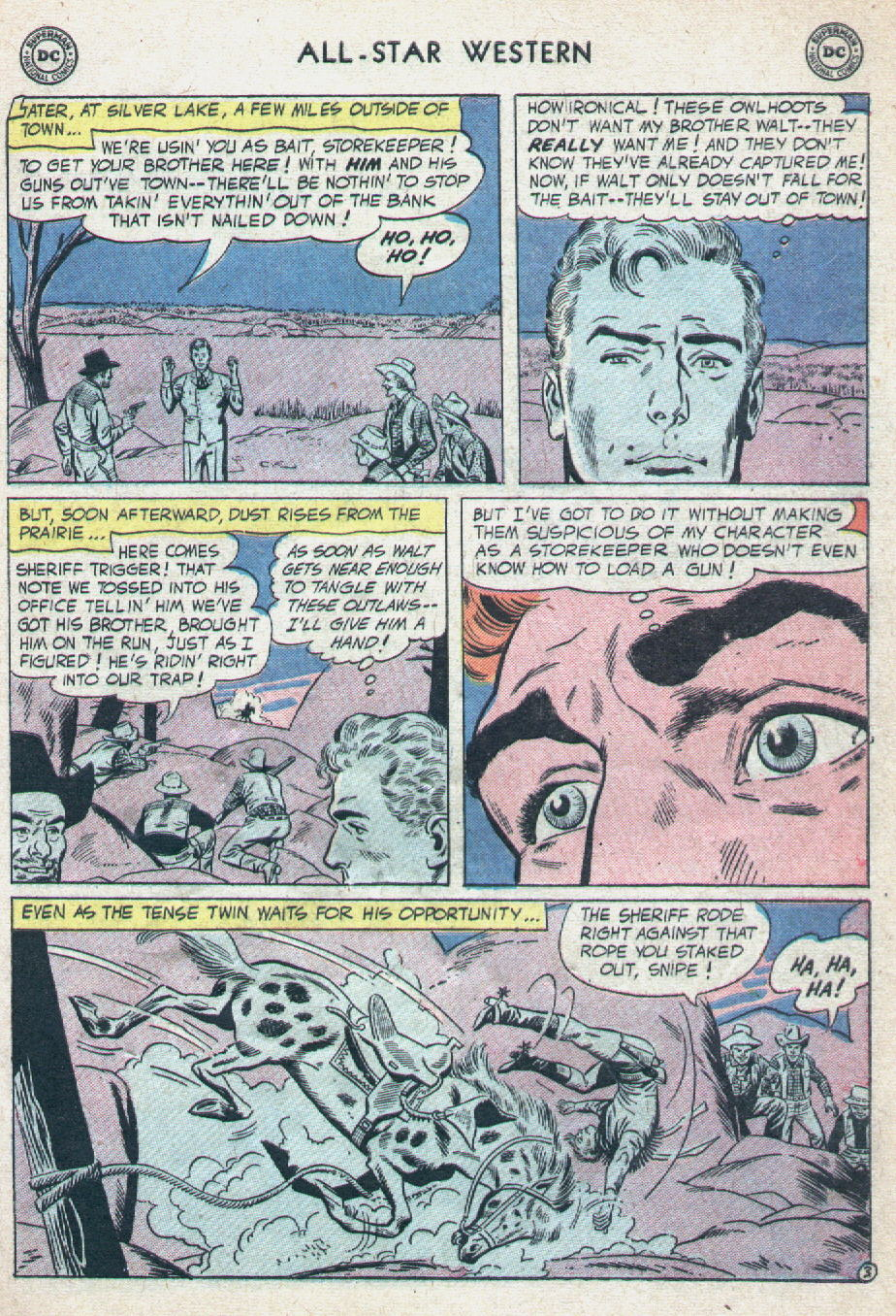 Read online All-Star Western (1951) comic -  Issue #90 - 5