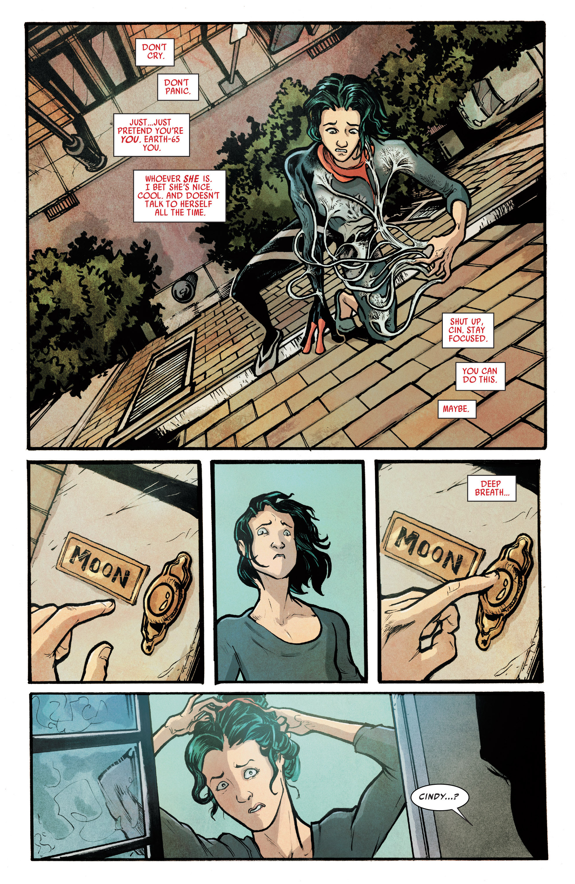 Read online Silk (2016) comic -  Issue #7 - 8