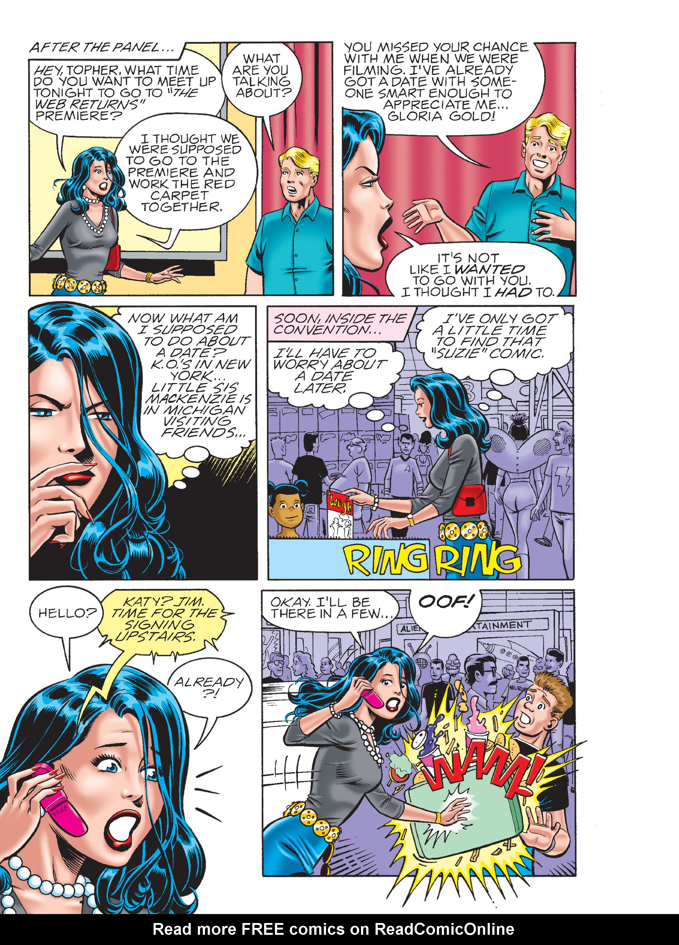 Read online Archie 75th Anniversary Digest comic -  Issue #5 - 199