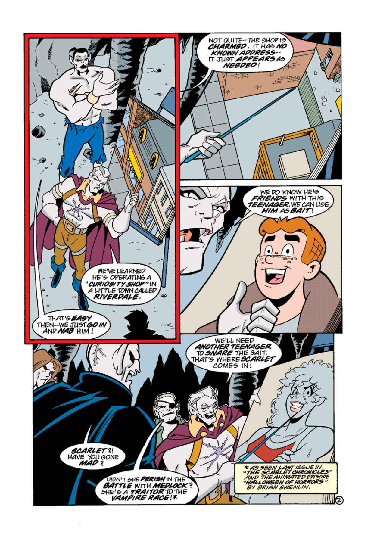 Read online Archie's Weird Mysteries comic -  Issue #12 - 4
