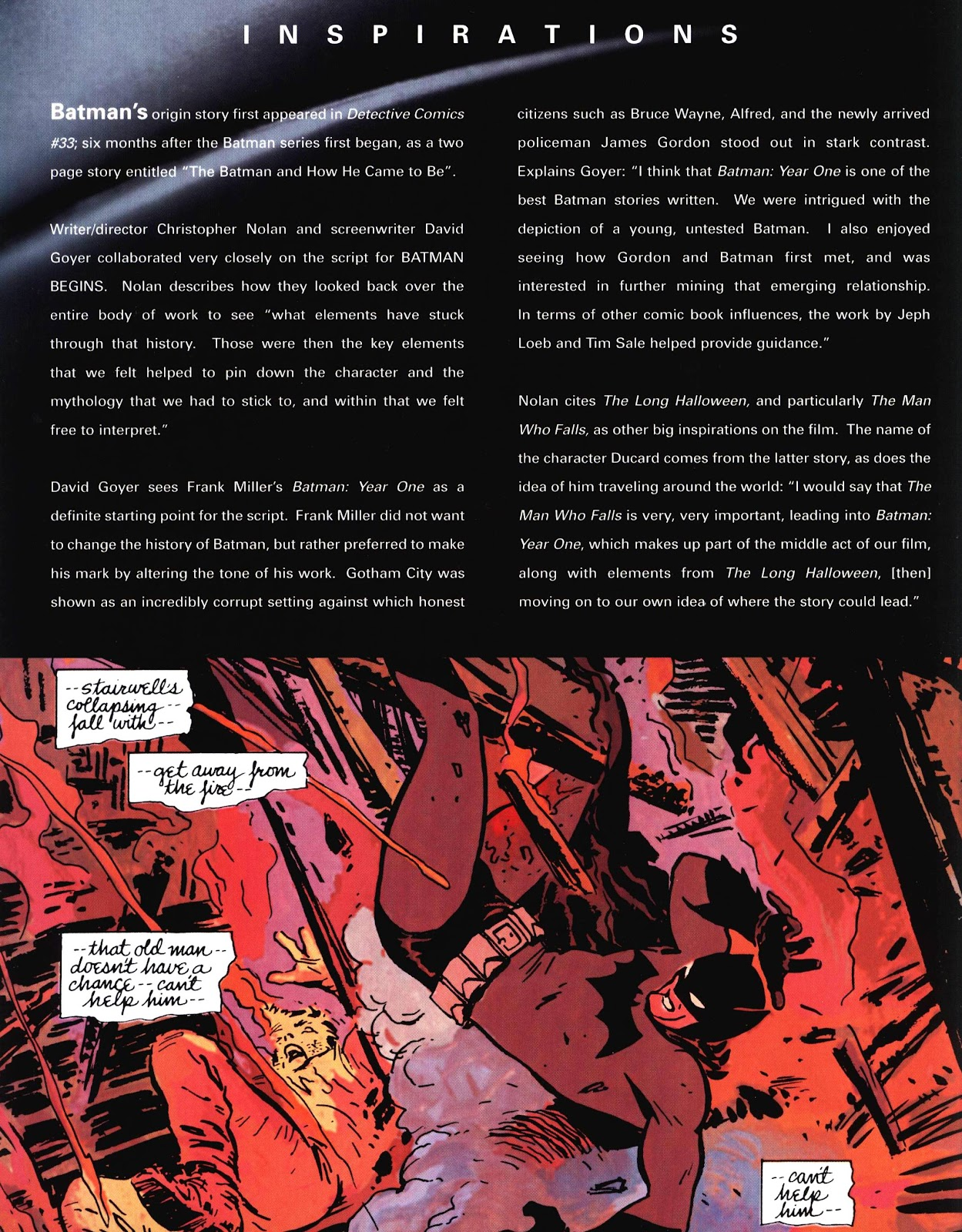 Read online Batman Begins: The Official Movie Guide comic -  Issue # TPB (Part 1) - 17
