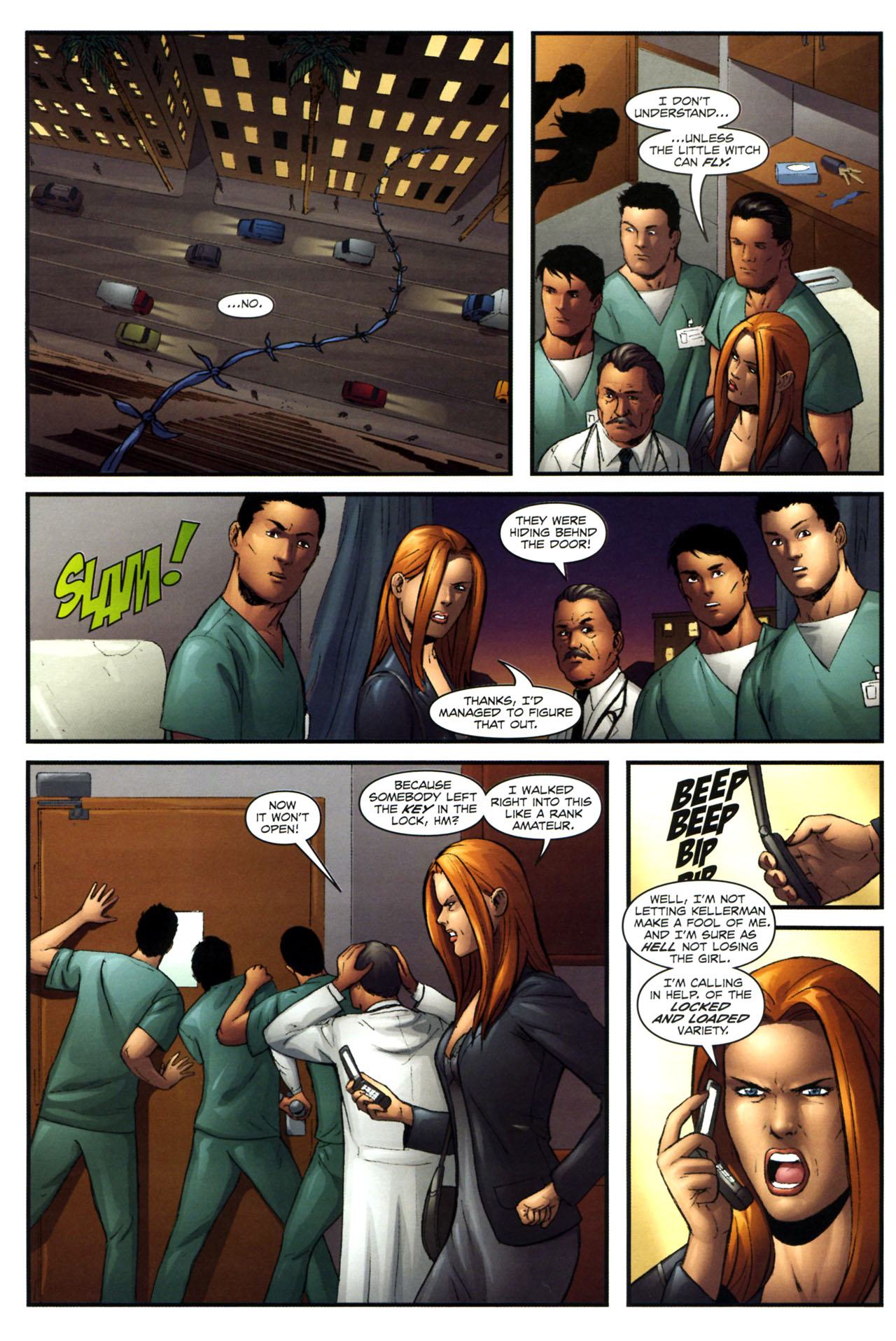 Read online Sheena, Queen of the Jungle comic -  Issue #3 - 5