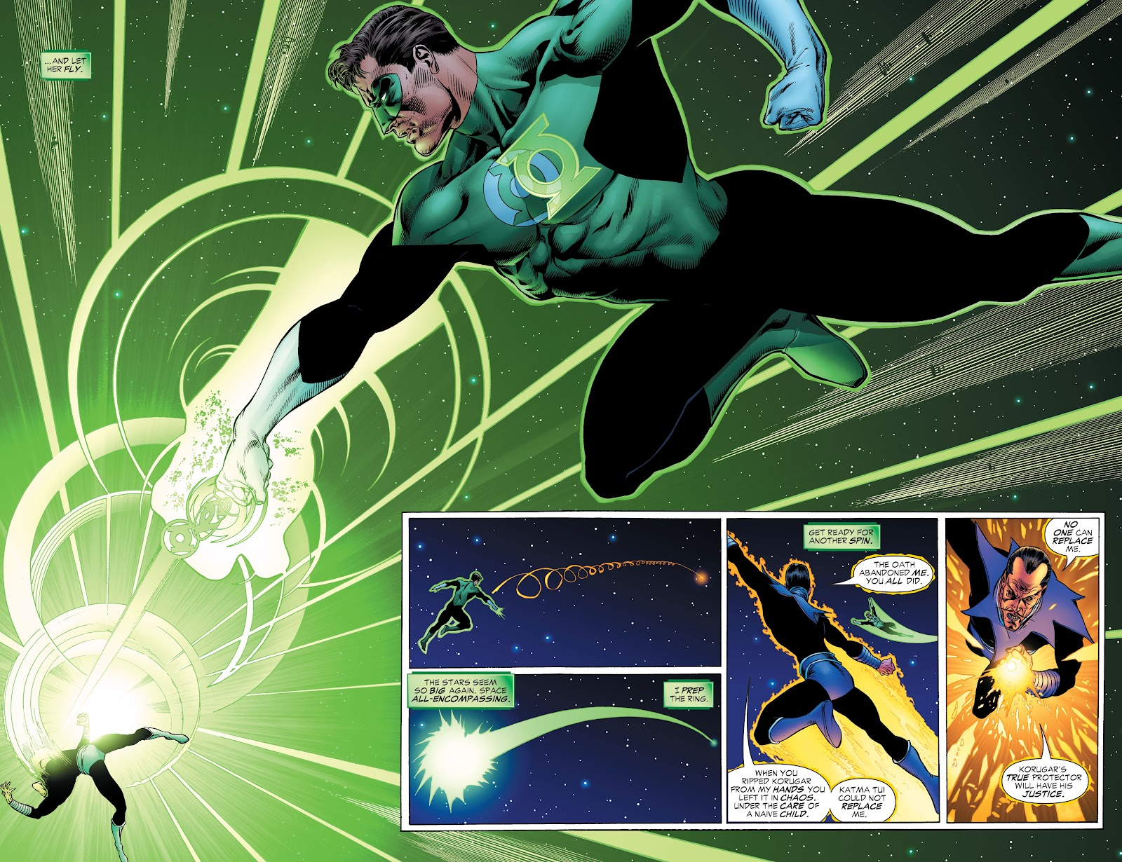 Read online Green Lantern by Geoff Johns comic -  Issue # TPB 1 (Part 2) - 18