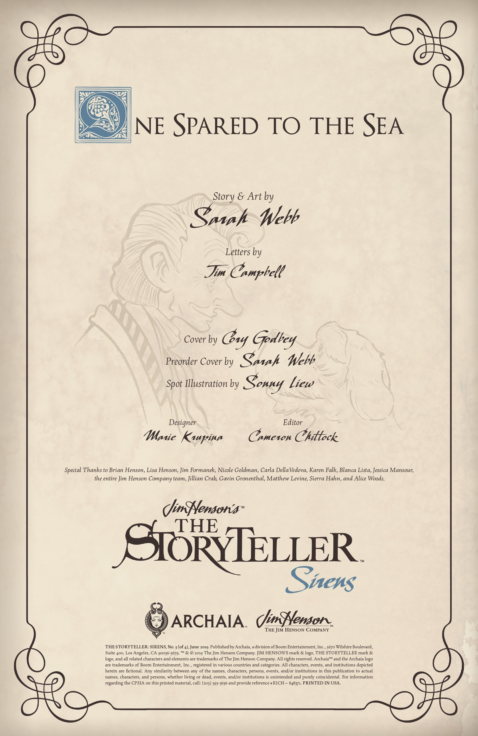 Jim Hensons The Storyteller: Sirens 3 Page 2