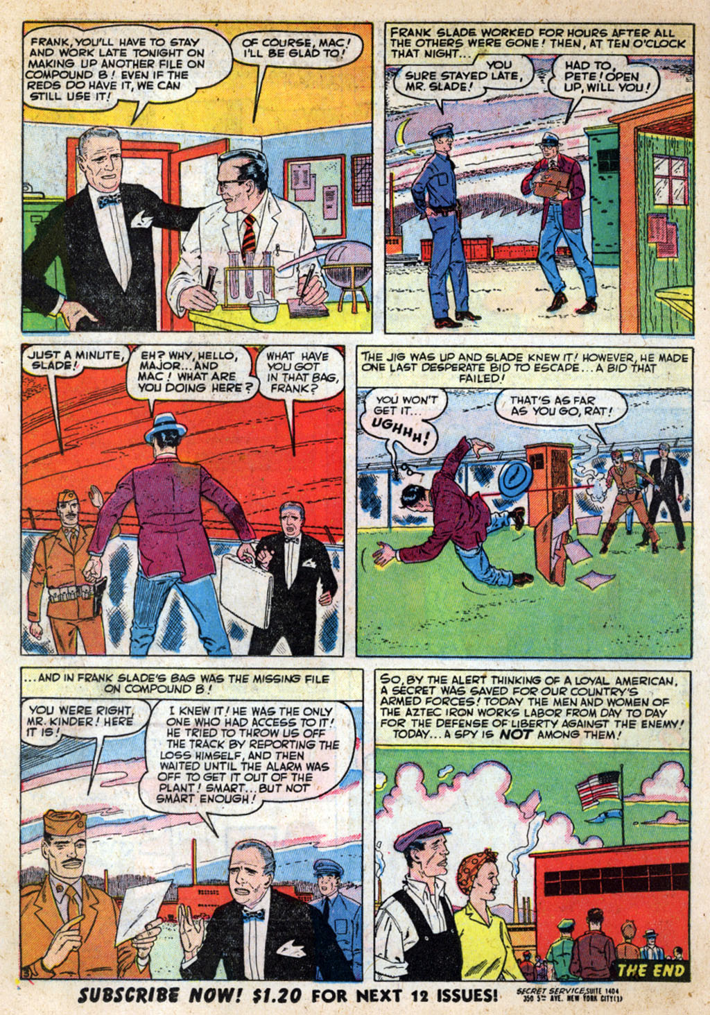 Kent Blake of the Secret Service issue 4 - Page 14