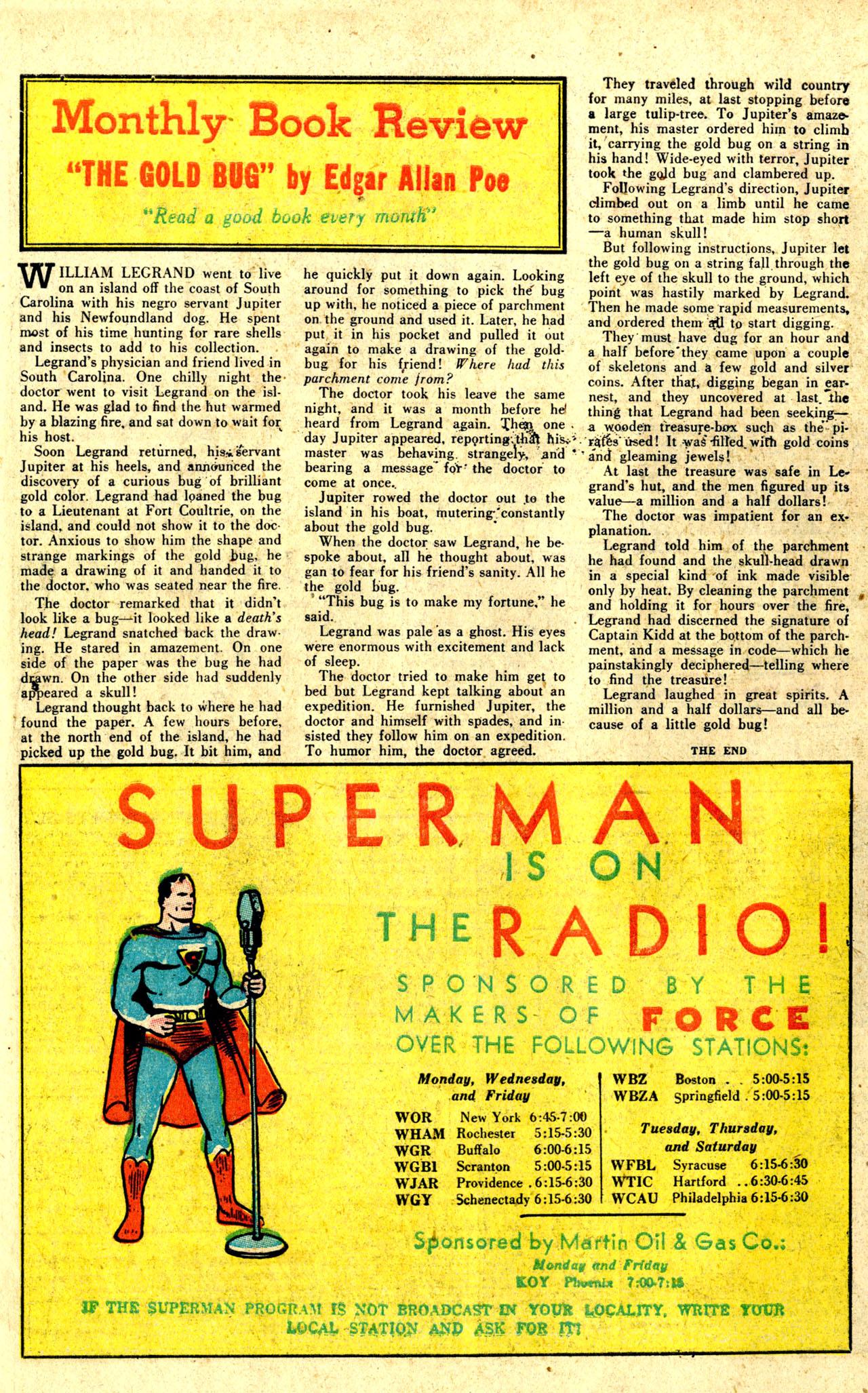 Read online Detective Comics (1937) comic -  Issue #44 - 50