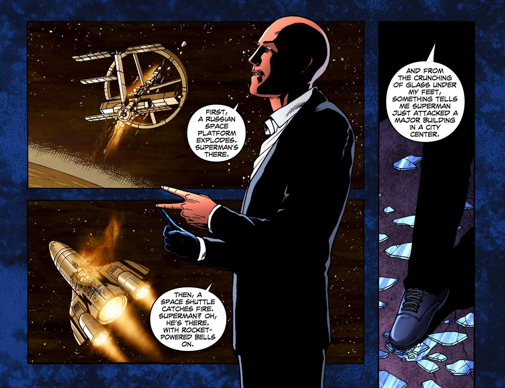 Read online Smallville: Season 11 comic -  Issue #7 - 21