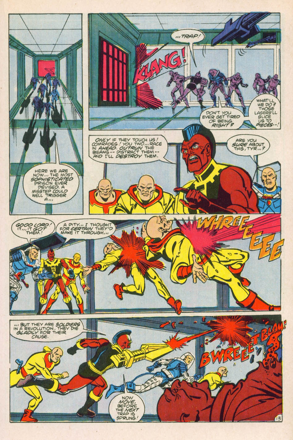 Comic Super Powers (1986) issue 2