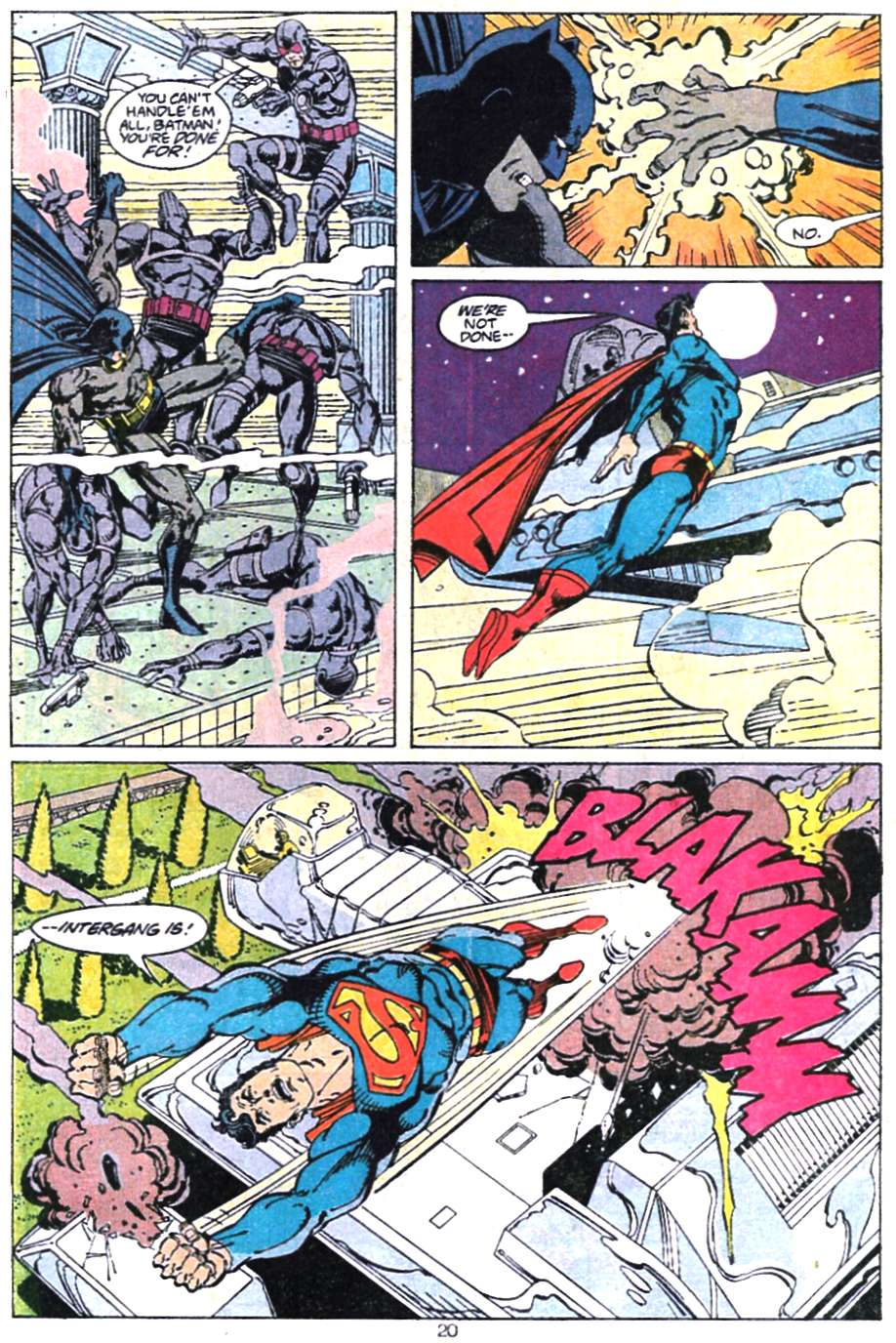 Read online Adventures of Superman (1987) comic -  Issue #467 - 22