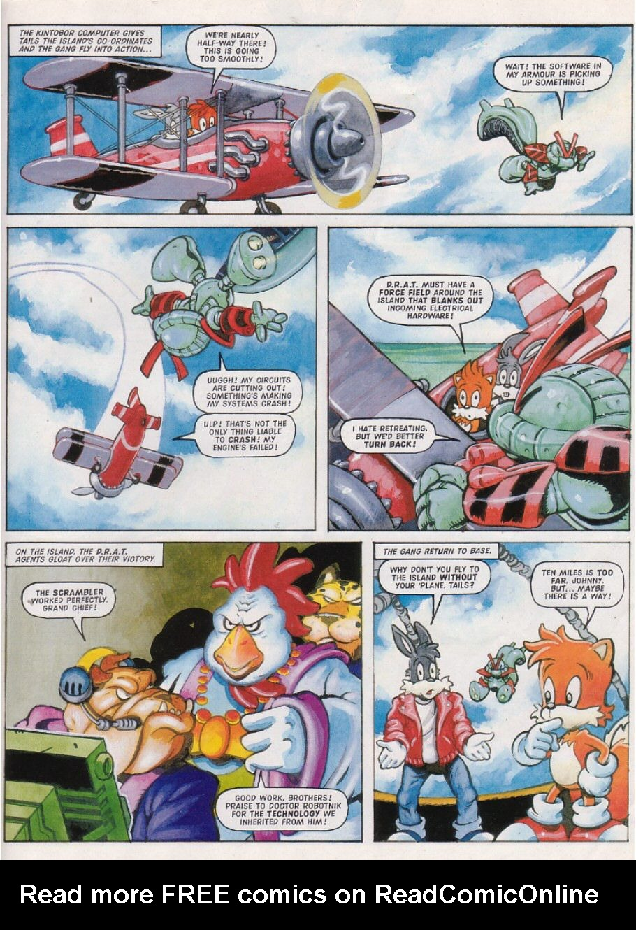 Read online Sonic the Comic comic -  Issue #149 - 17