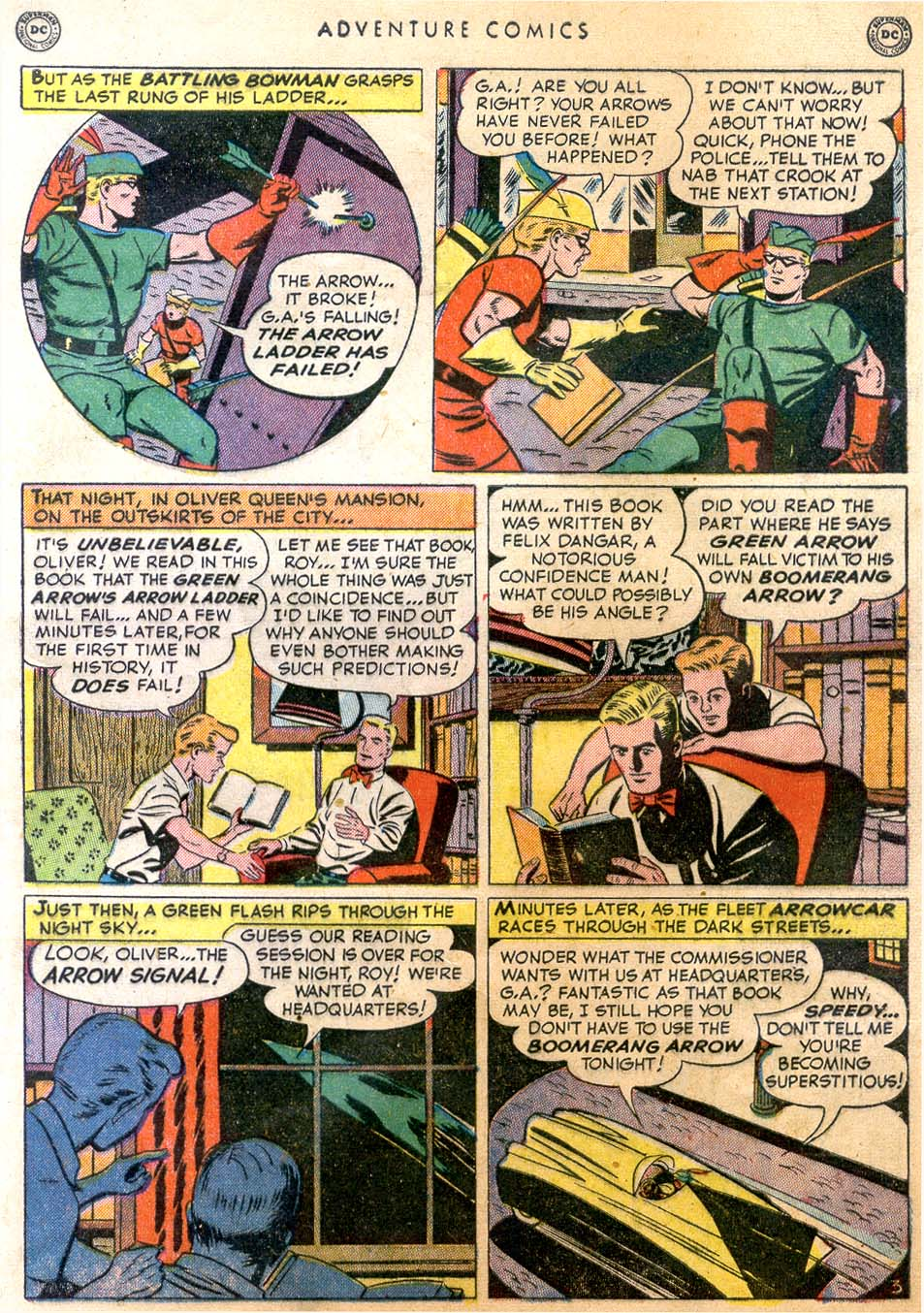 Read online Adventure Comics (1938) comic -  Issue #158 - 41