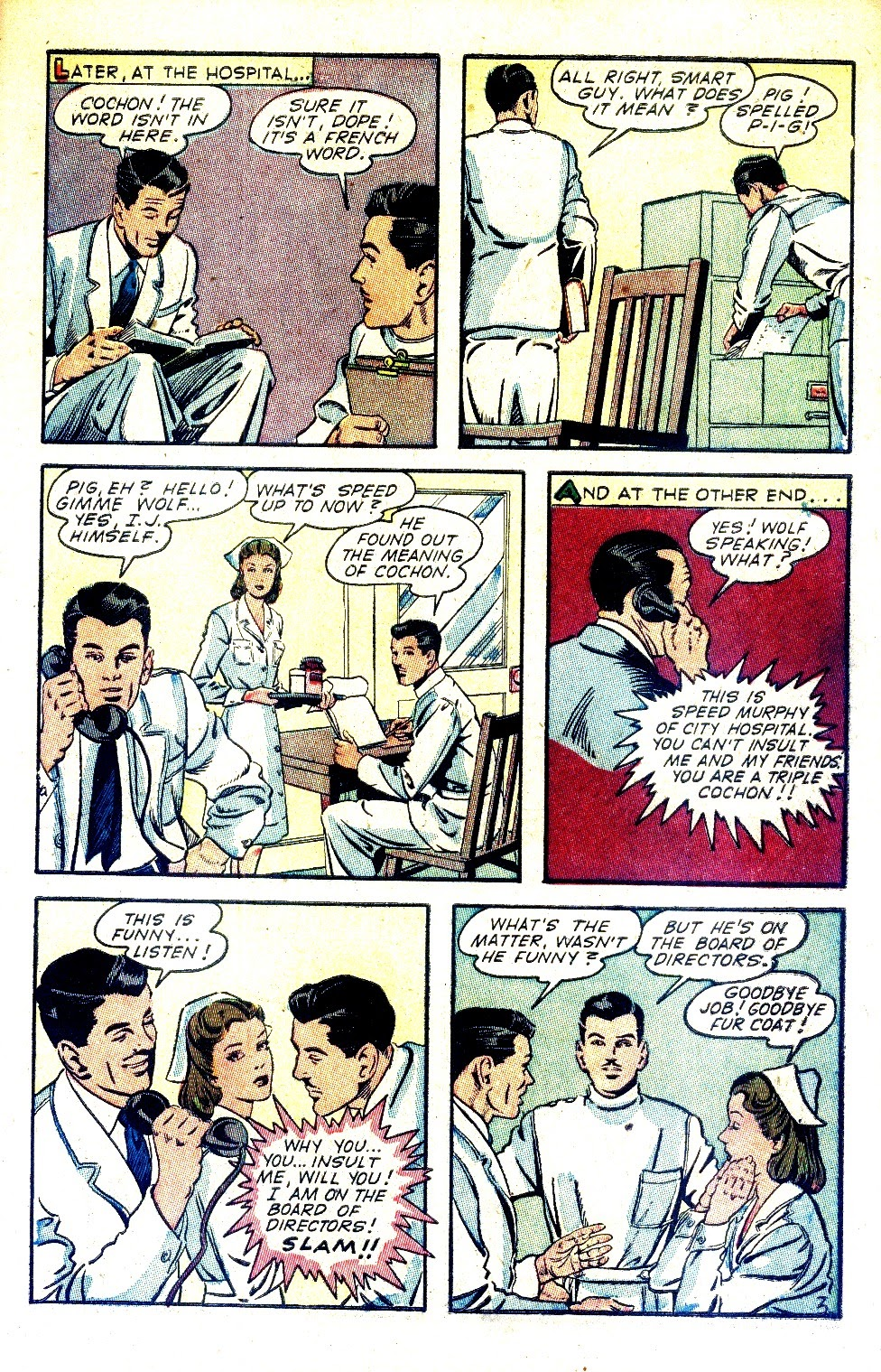Read online Nellie The Nurse (1945) comic -  Issue #2 - 5