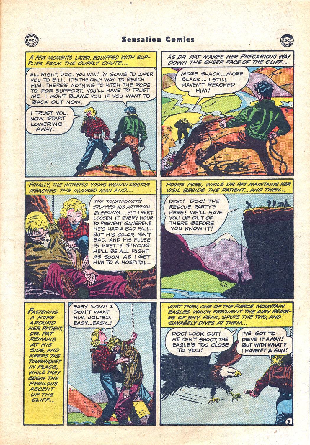 Read online Sensation (Mystery) Comics comic -  Issue #94 - 41
