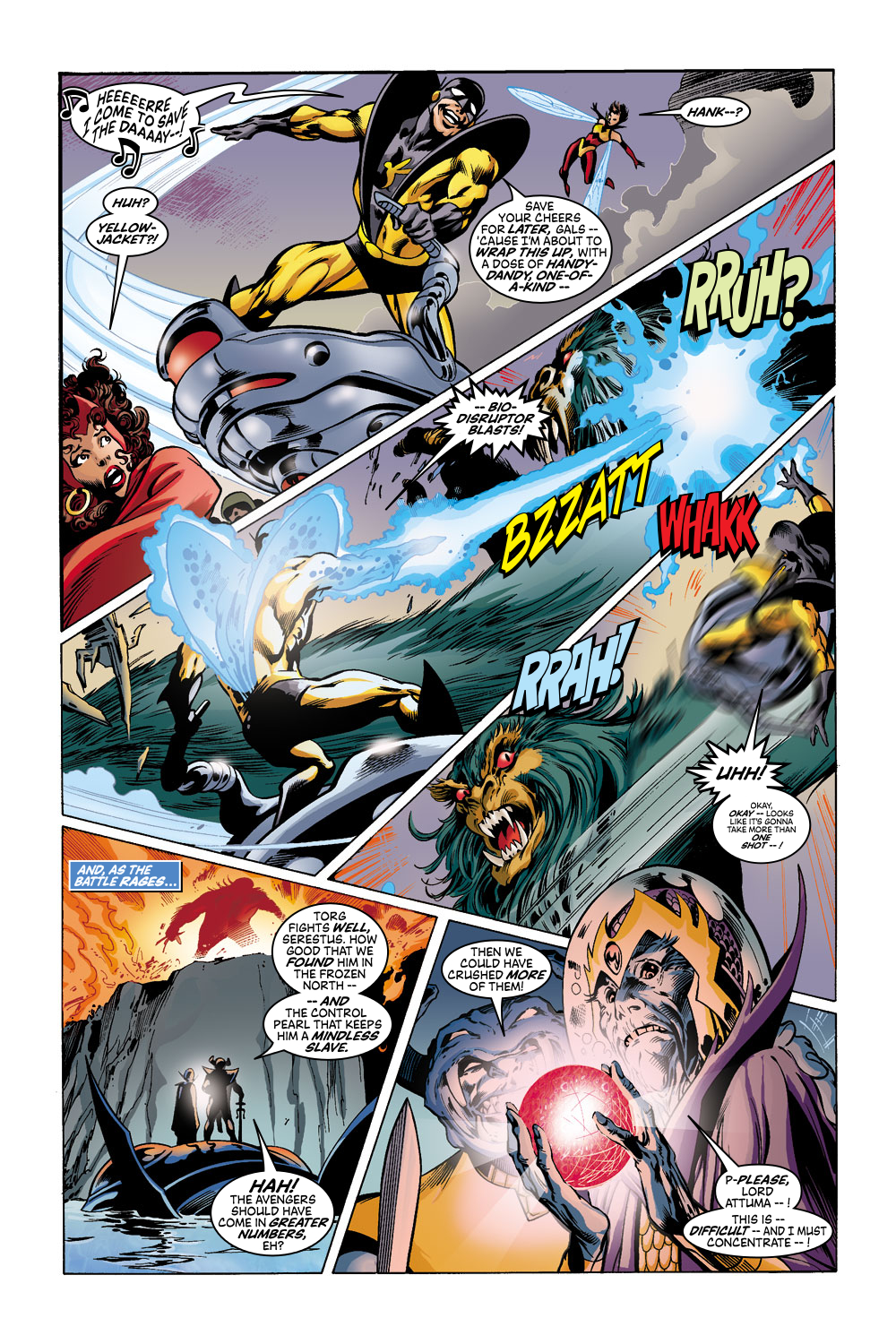Read online Avengers (1998) comic -  Issue #43 - 9