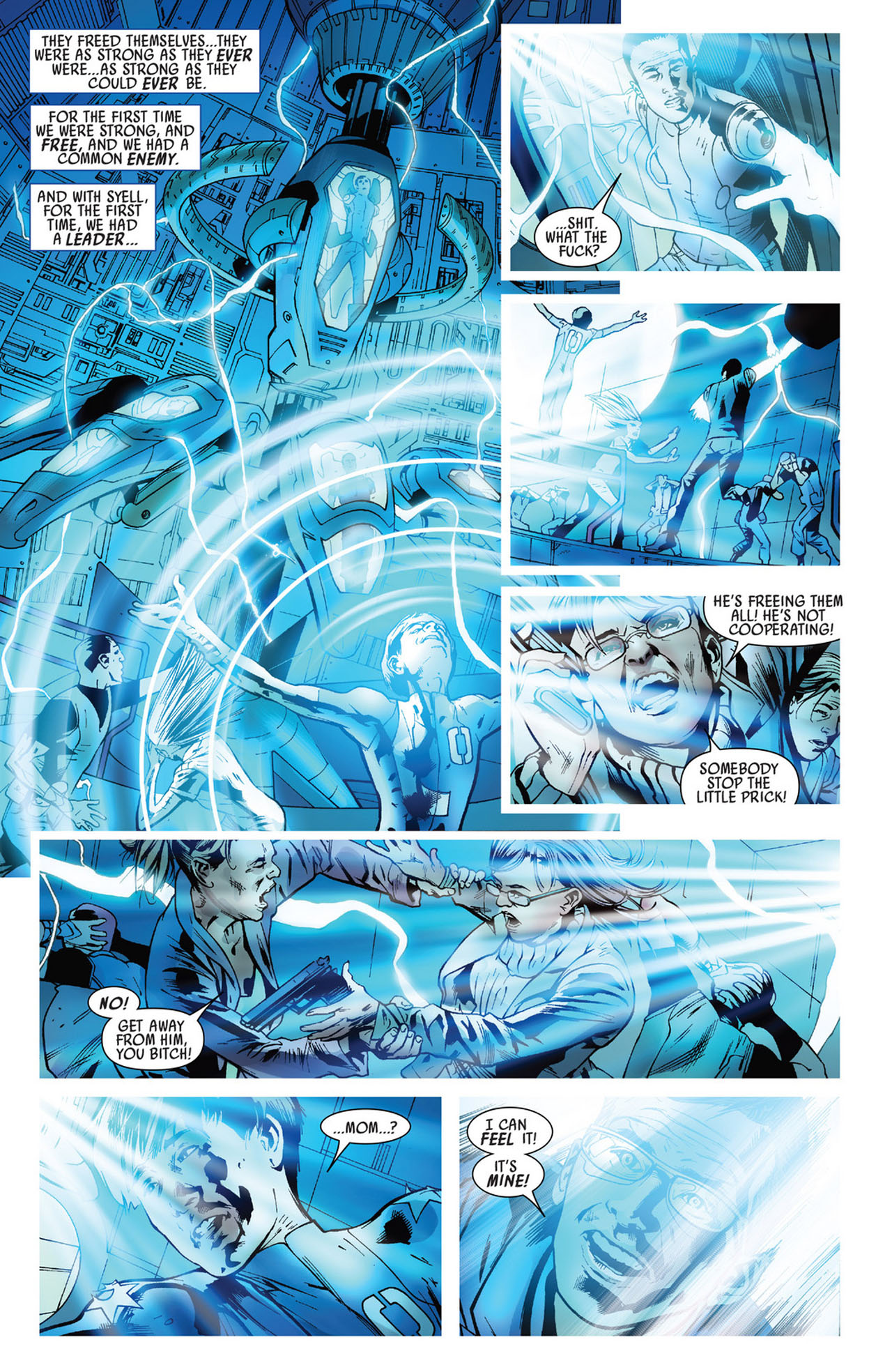 Read online America's Got Powers comic -  Issue #5 - 22