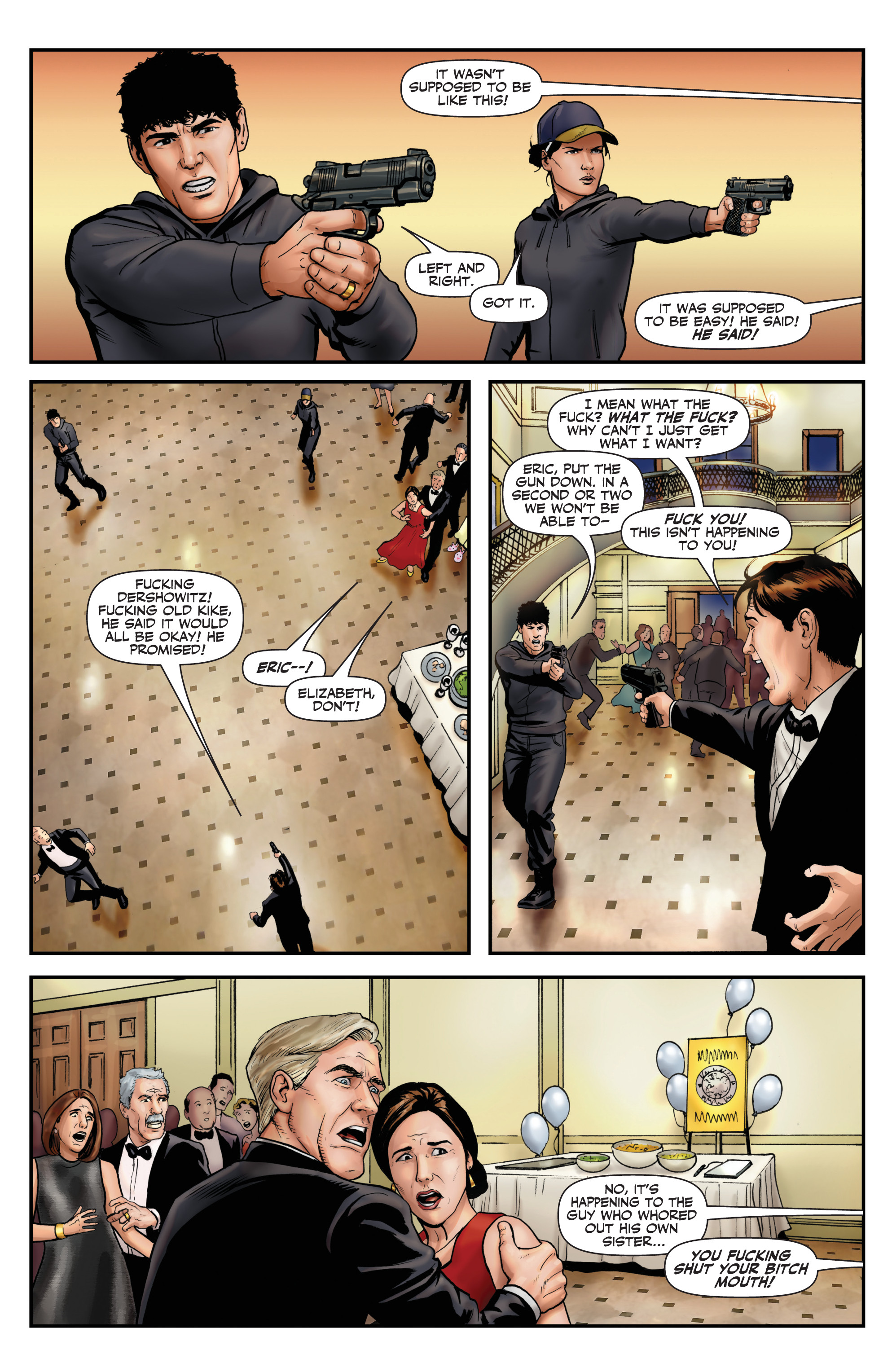 Read online Red Team: Double Tap, Center Mass comic -  Issue #9 - 12