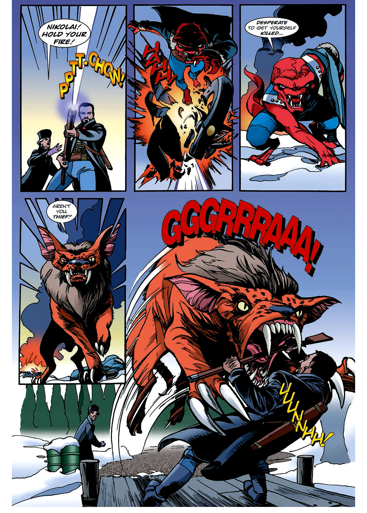 Read online Nikolai Dante comic -  Issue # TPB 4 - 120