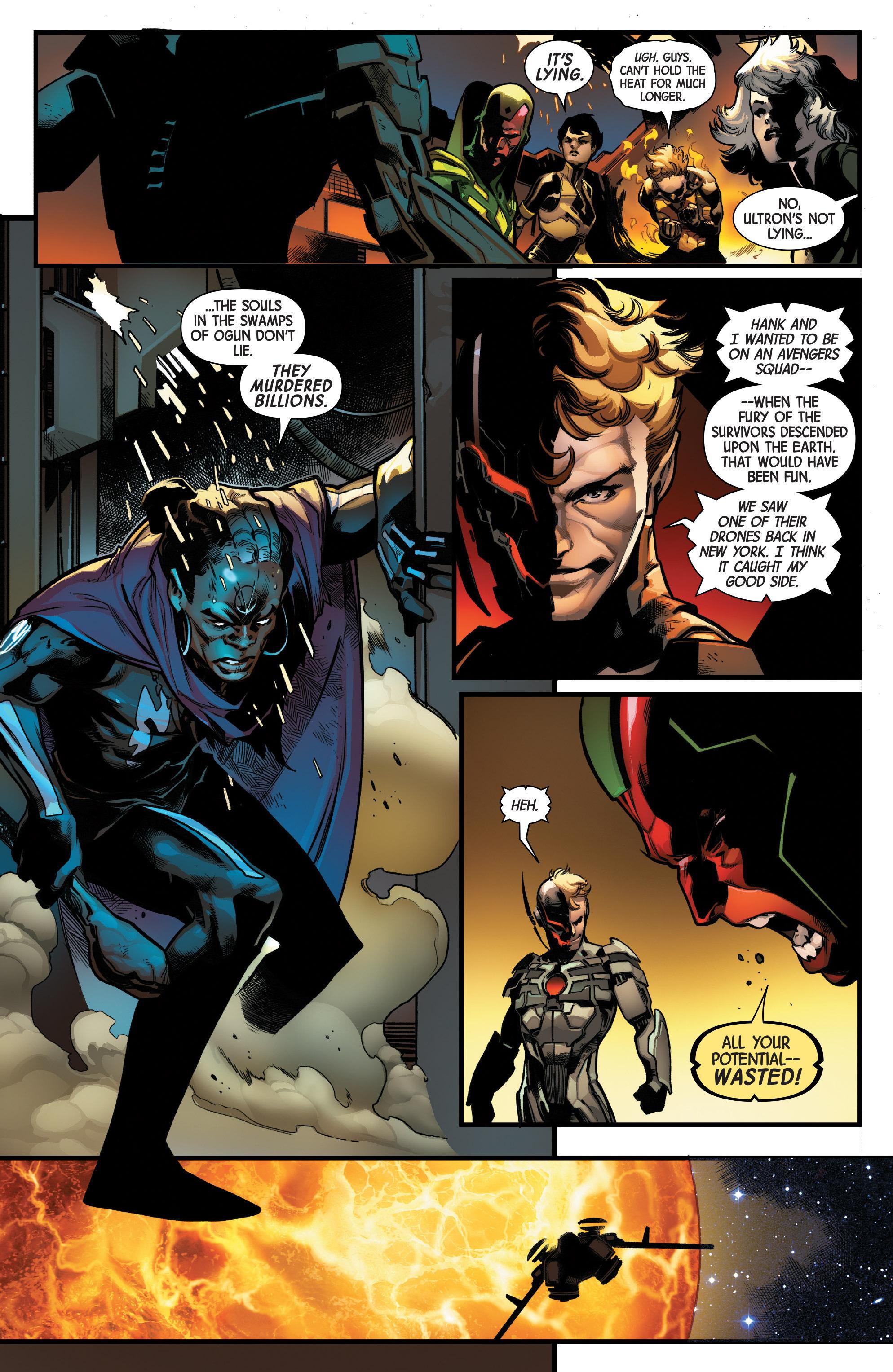 Read online Uncanny Avengers [II] comic -  Issue #12 - 14