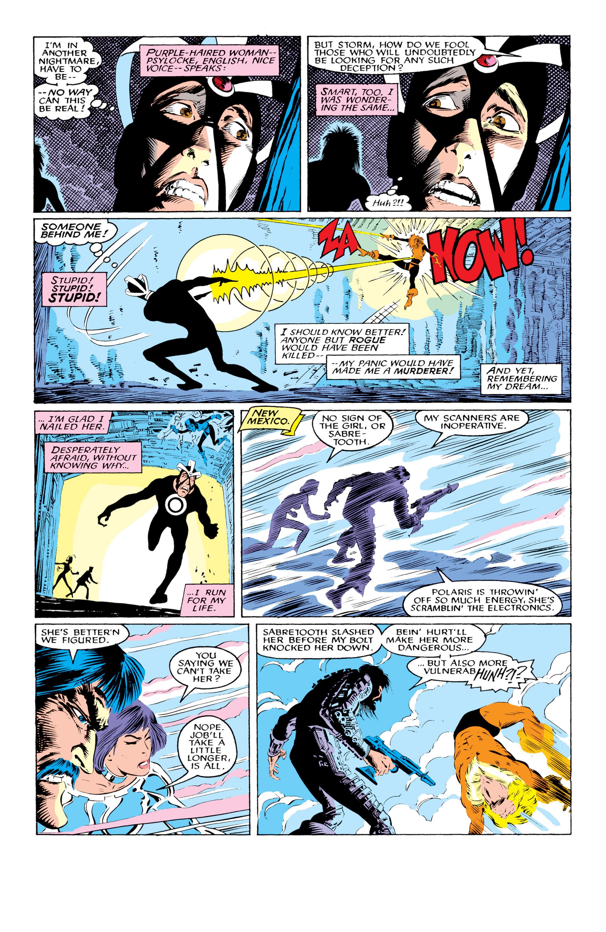 Read online Uncanny X-Men (1963) comic -  Issue #219 - 19