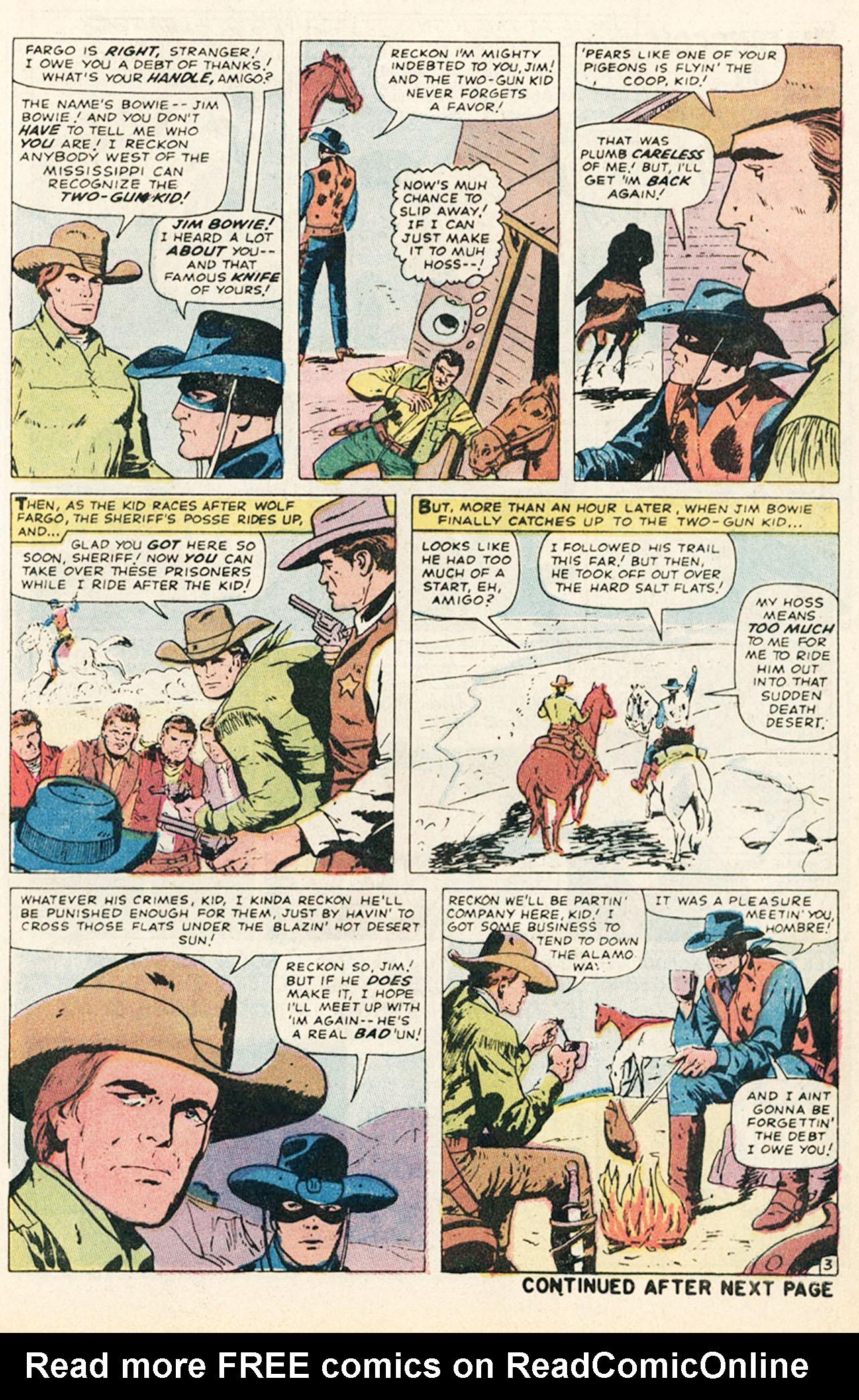 Read online Two-Gun Kid comic -  Issue #95 - 5