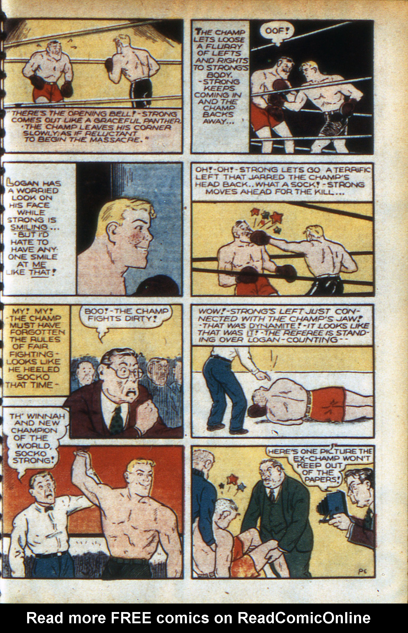 Read online Adventure Comics (1938) comic -  Issue #46 - 34