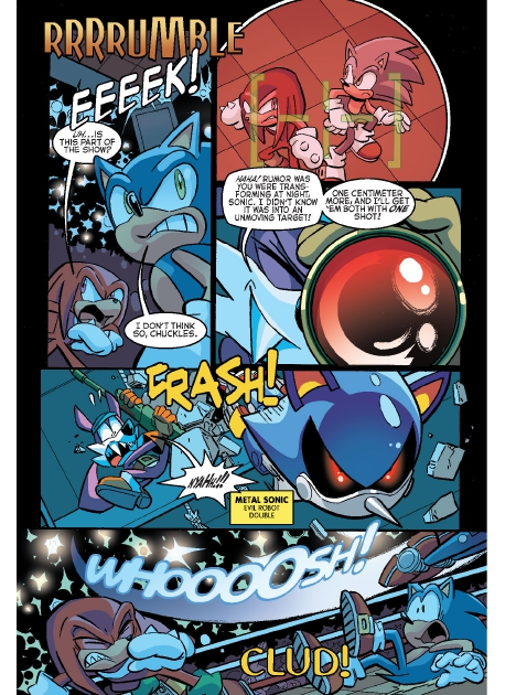 Read online Sonic Comics Spectacular: Speed of Sound comic -  Issue # Full - 68
