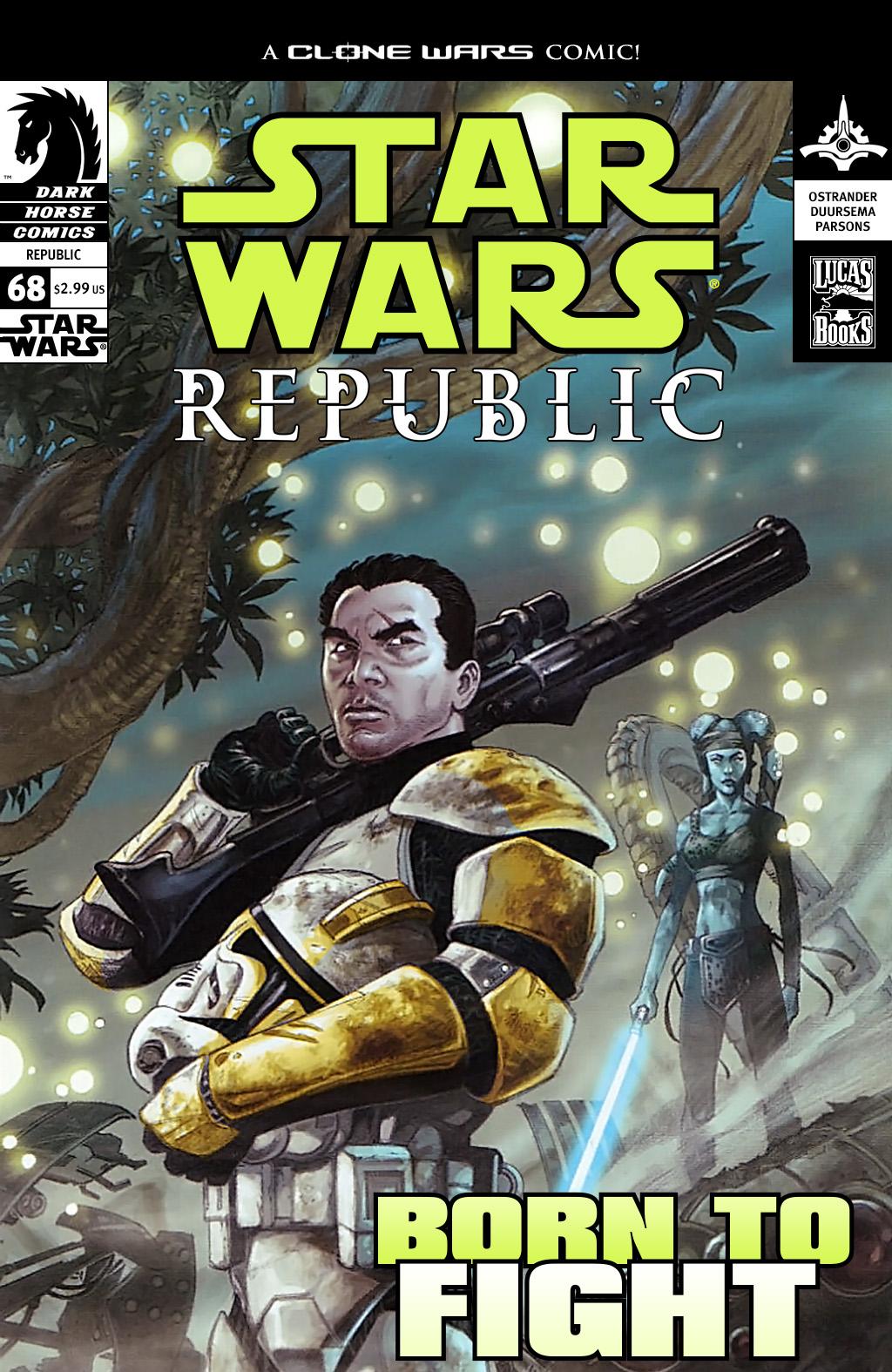 Star Wars: Republic 68 Page 1