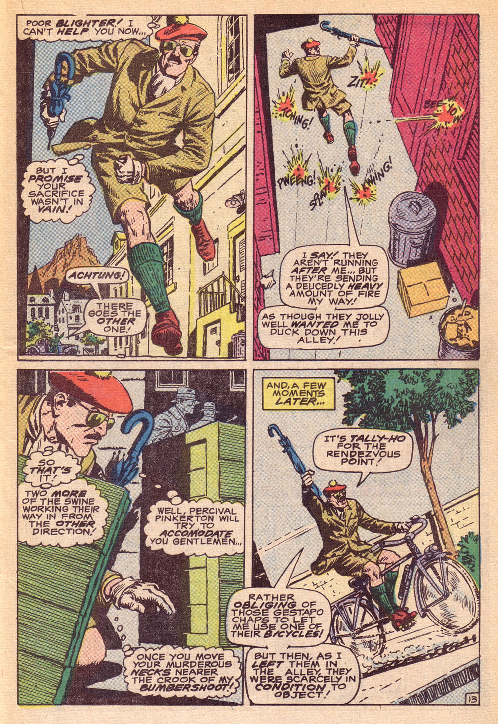 Read online Sgt. Fury comic -  Issue #74 - 19
