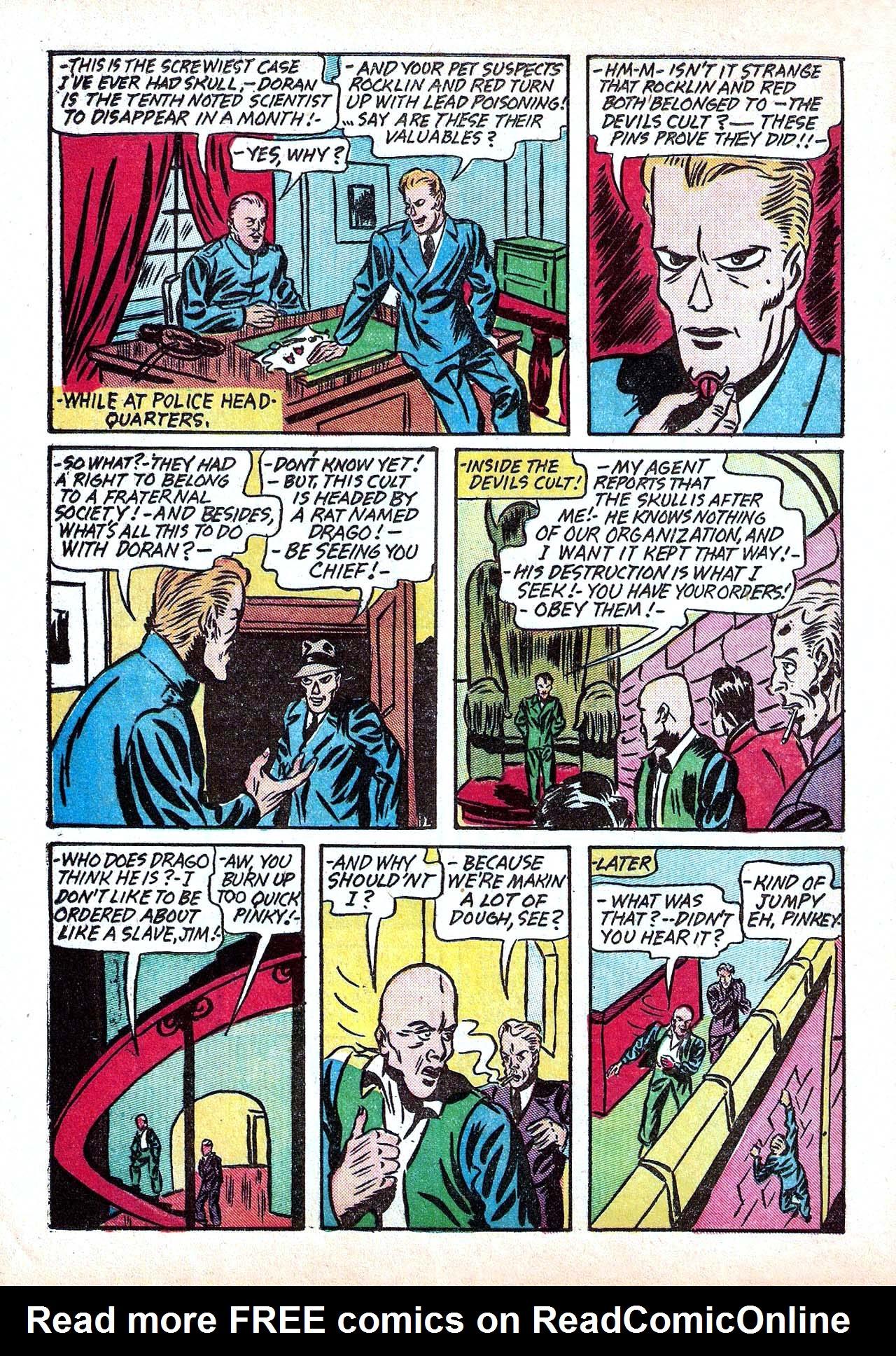Read online Amazing Man Comics comic -  Issue #11 - 22