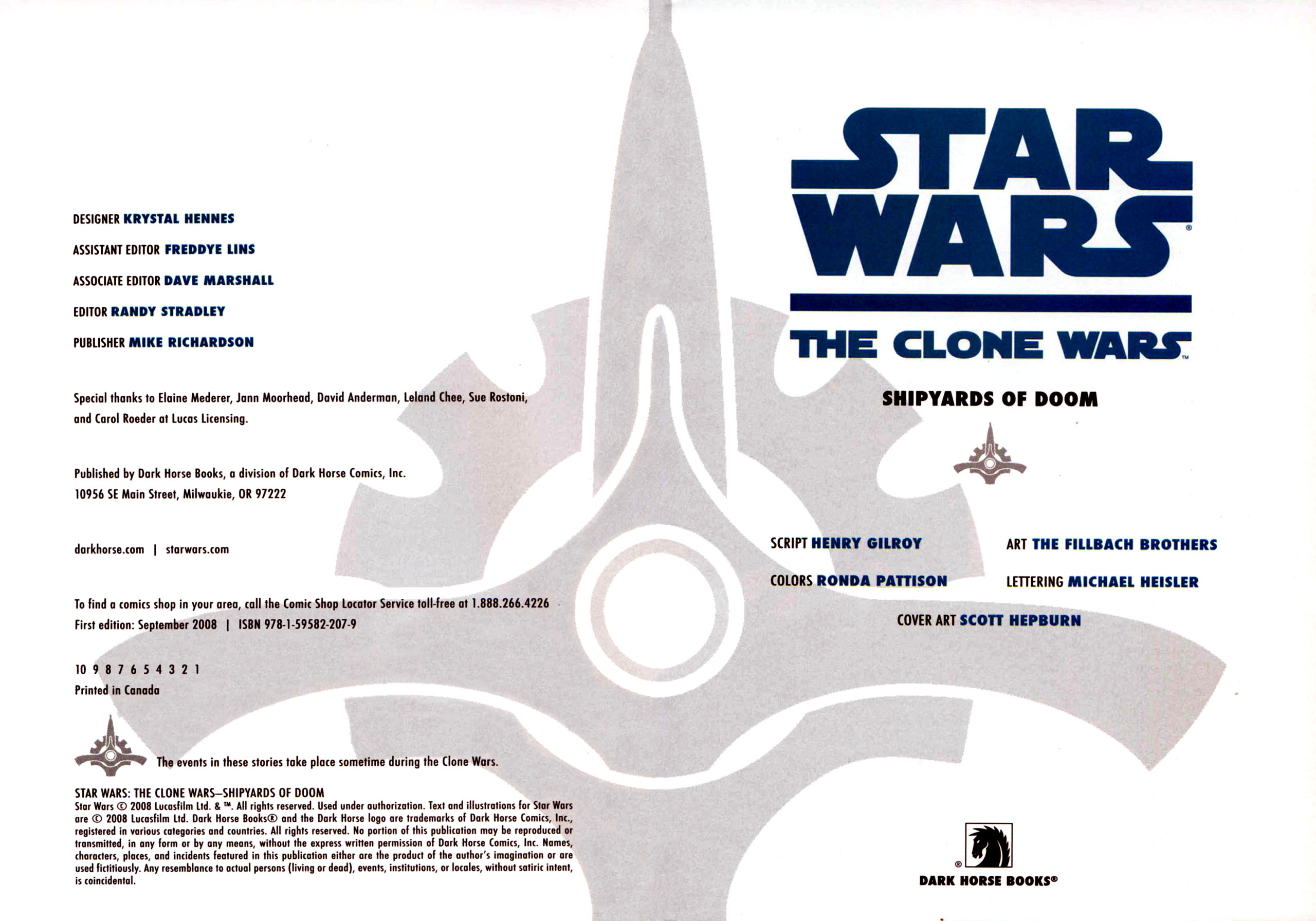 Read online Star Wars: The Clone Wars - Shipyards of Doom comic -  Issue # Full - 4