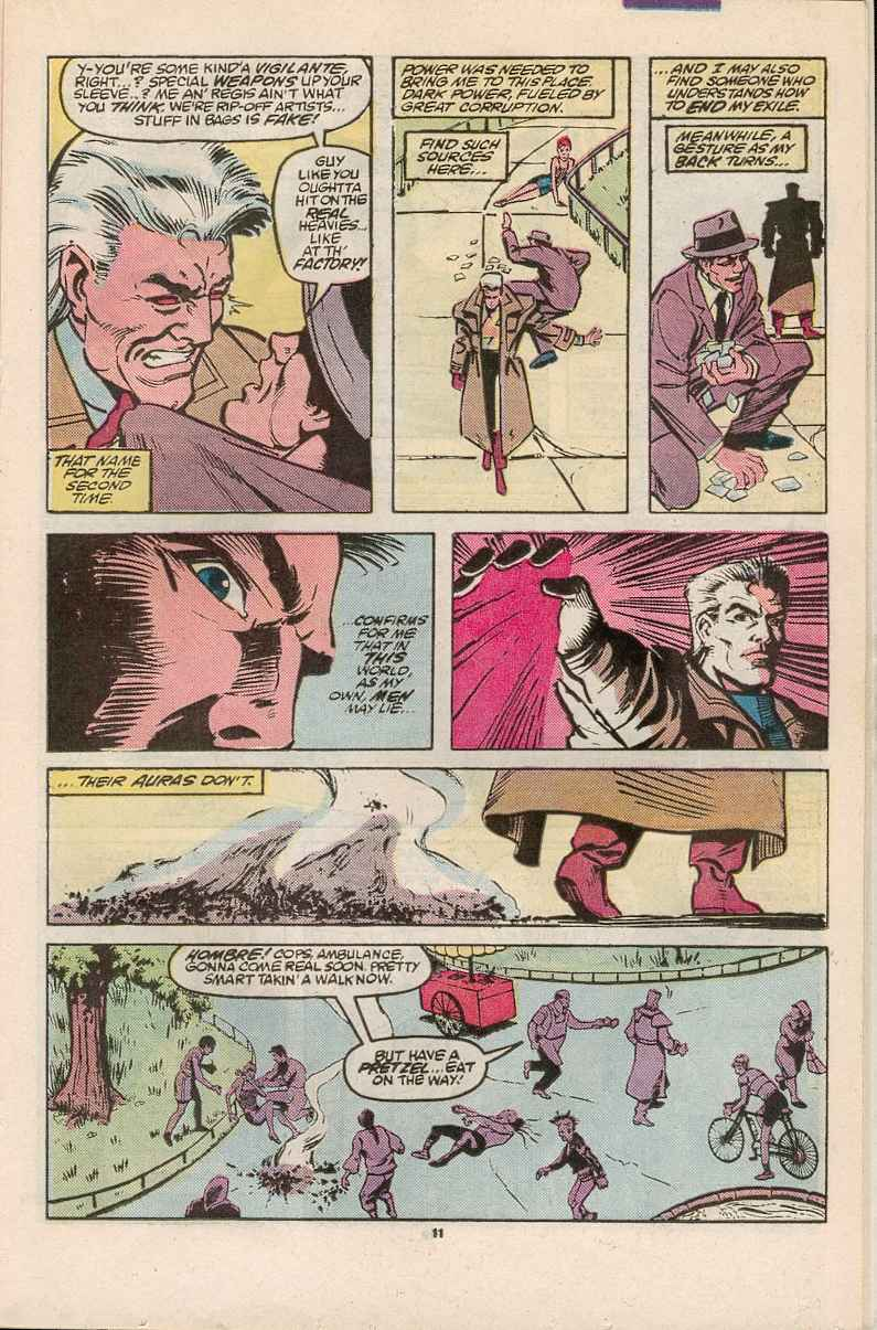 Read online Justice (1986) comic -  Issue #1 - 12