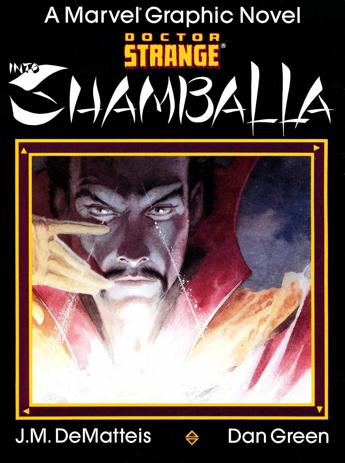 Marvel Graphic Novel 23_-_Dr._Strange_Into_Shamballa Page 1