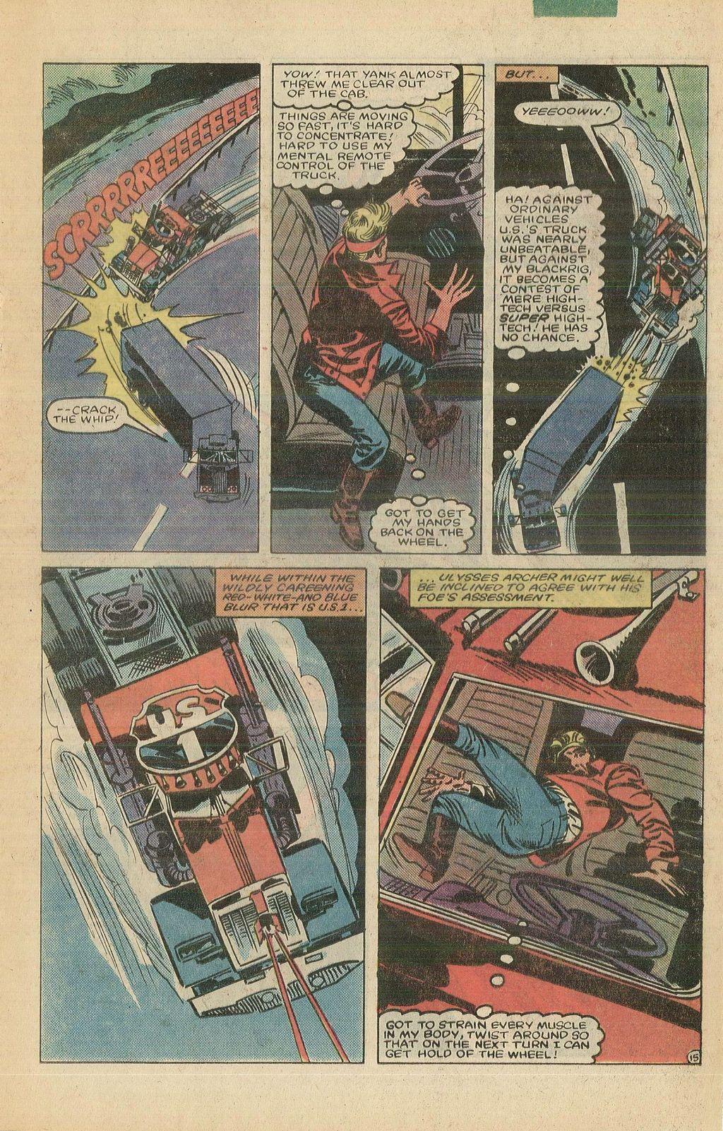 Read online U.S. 1 comic -  Issue #10 - 21