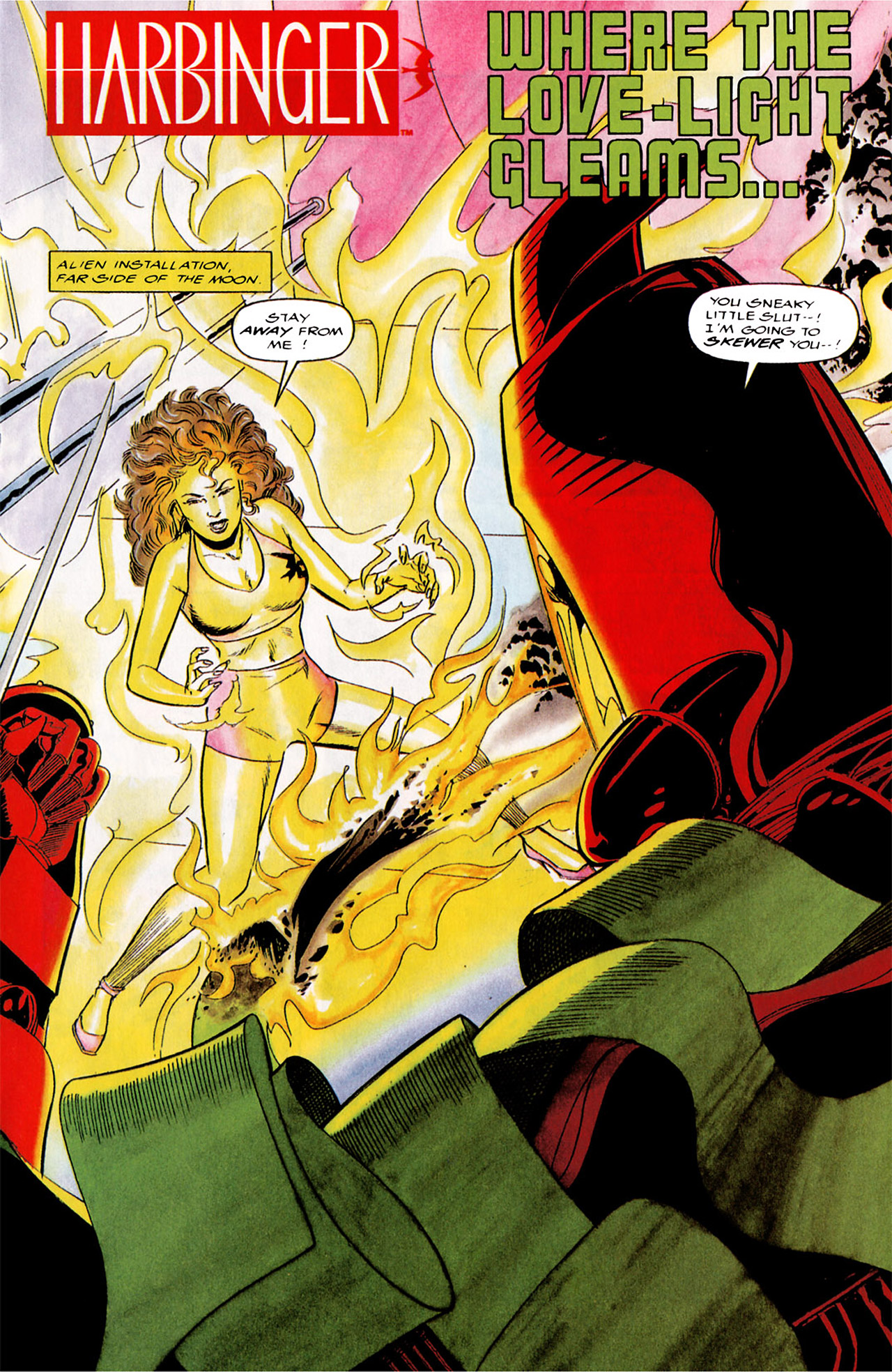Read online Harbinger (1992) comic -  Issue #4 - 2
