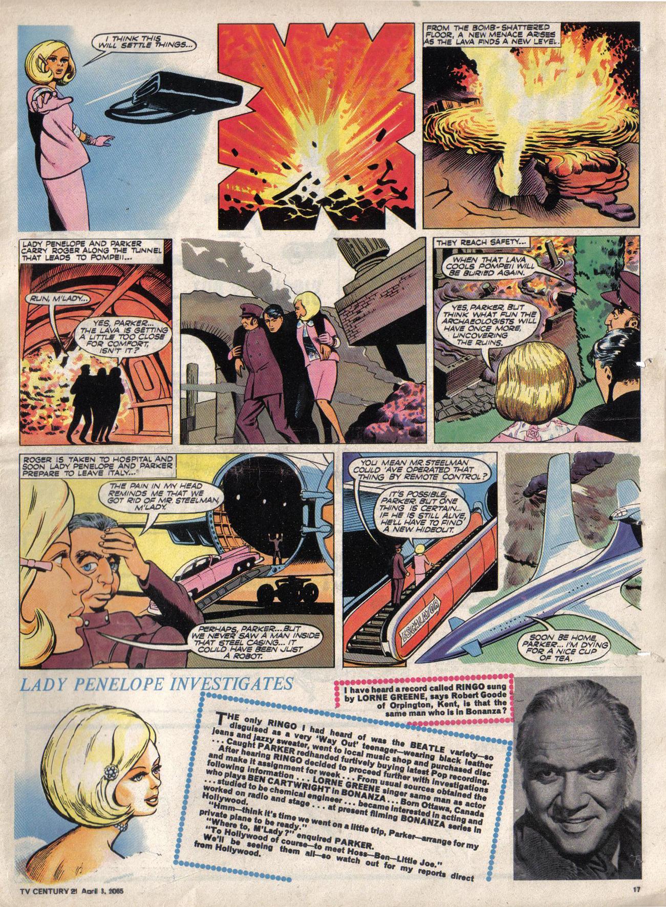 Read online TV Century 21 (TV 21) comic -  Issue #11 - 16